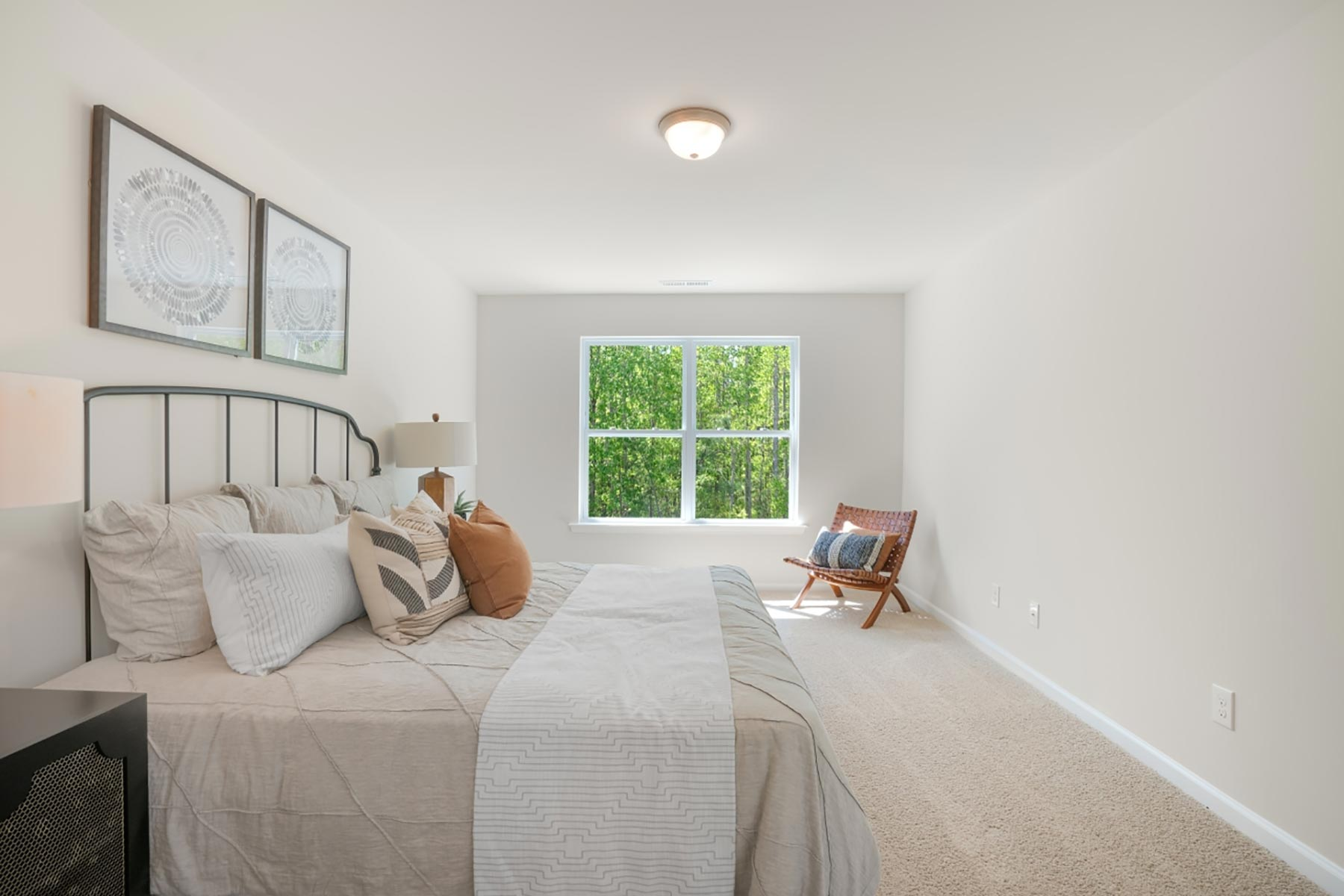 Royce Plan Bedroom at Bengal Townes in Fuquay-Varina North Carolina by Mattamy Homes