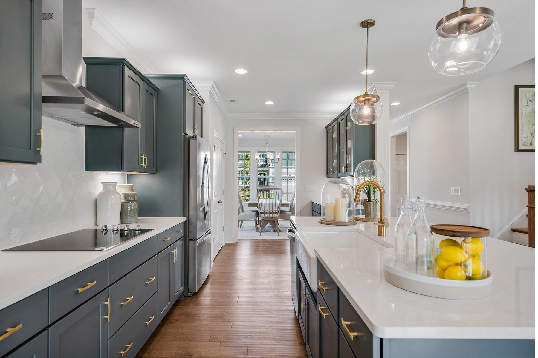 Bent Tree Kitchen in Fuquay-Varina North Carolina by Mattamy Homes