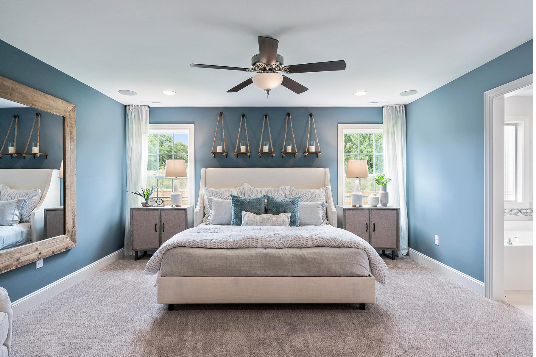 Bent Tree Bedroom in Fuquay-Varina North Carolina by Mattamy Homes