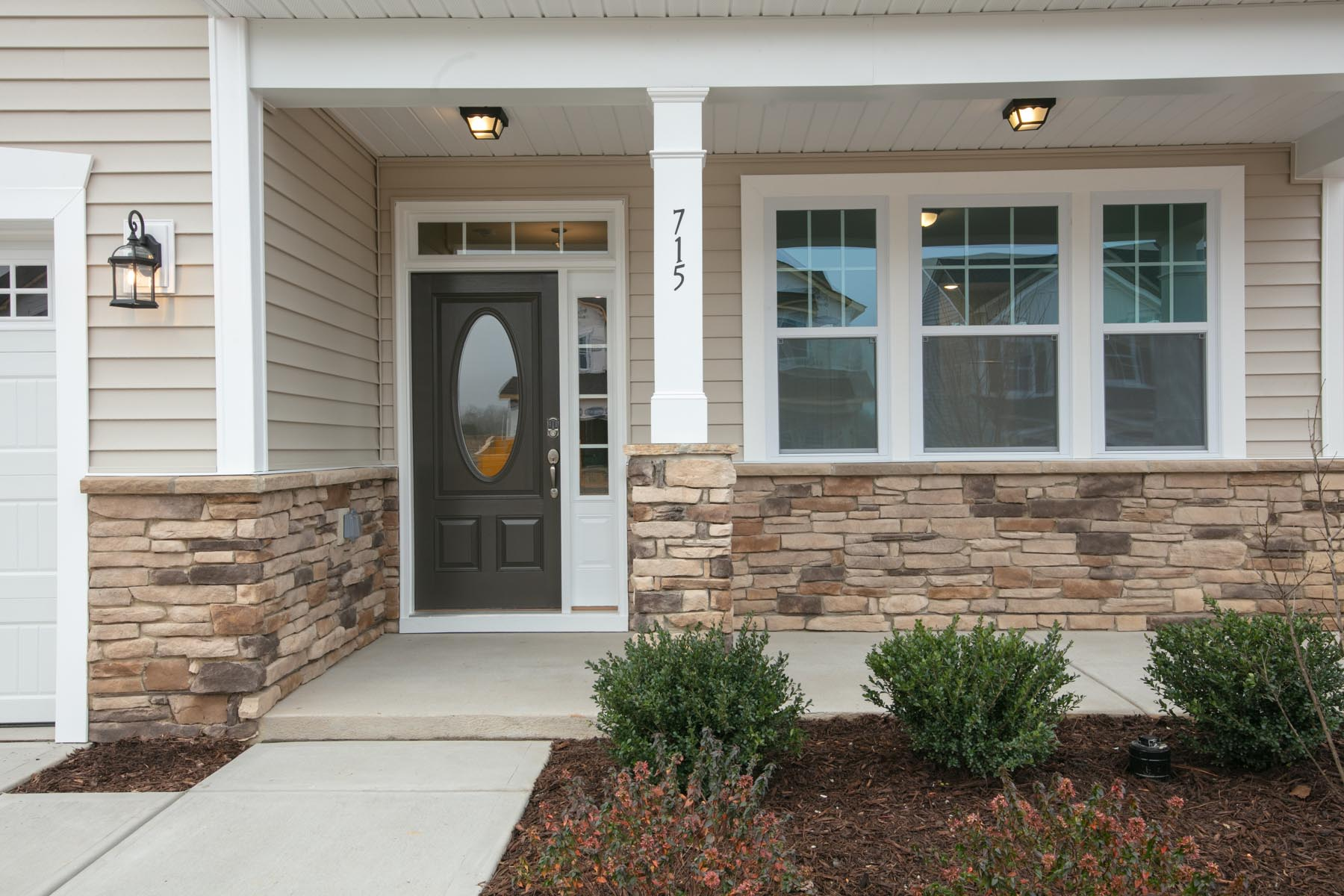 Pierce Plan Front Porch at Bent Tree in Fuquay-Varina North Carolina by Mattamy Homes