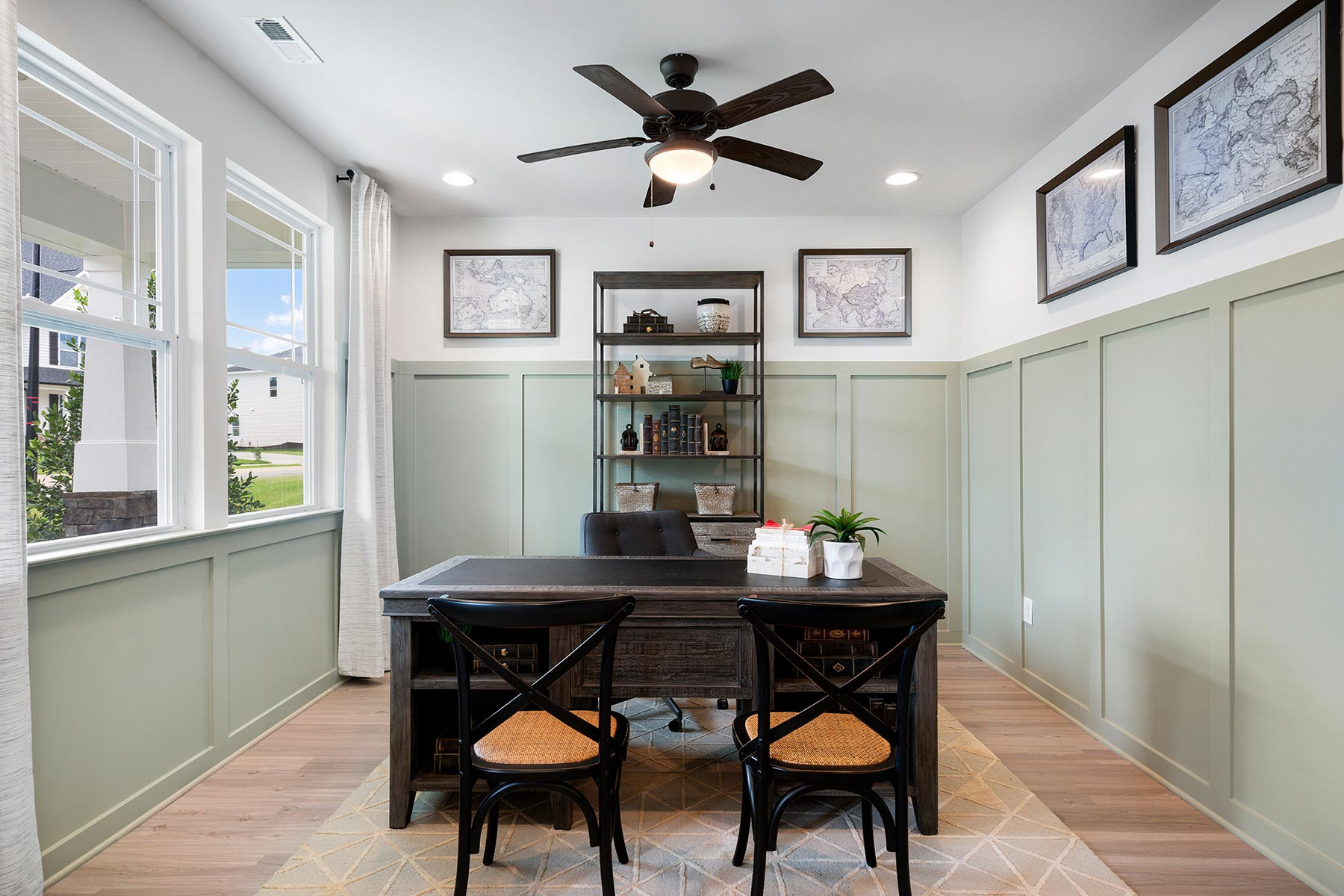 Amelia Plan Study Room at Briar Gate in Fuquay-Varina North Carolina by Mattamy Homes