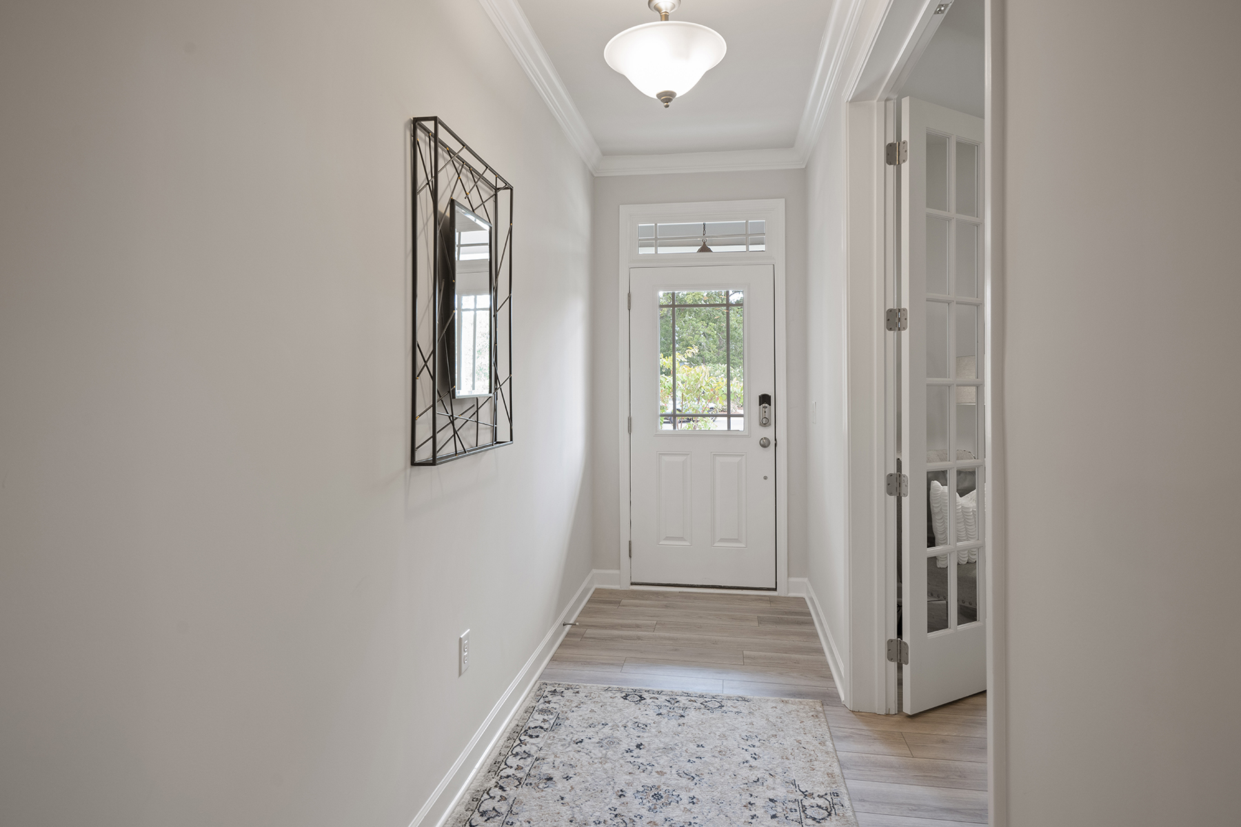 Hamilton Plan Foyer at Fairview Park in Cary North Carolina by Mattamy Homes