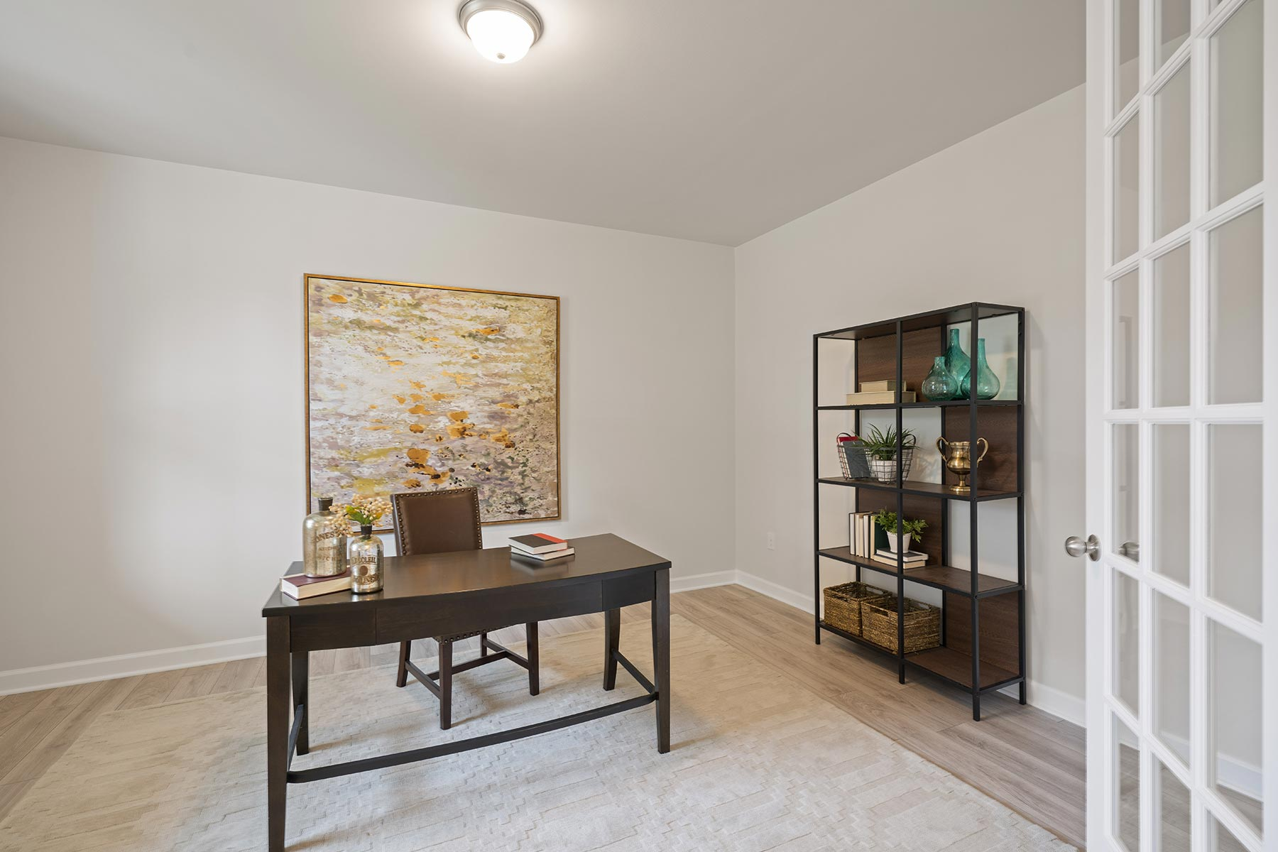 Hamilton Plan Study Room at Fairview Park in Cary North Carolina by Mattamy Homes