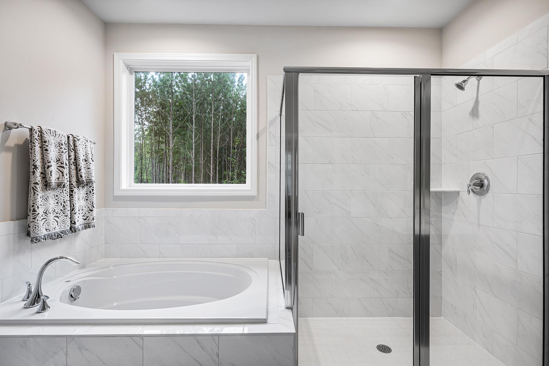 Kendrick Plan Bath at Fairview Park in Cary North Carolina by Mattamy Homes