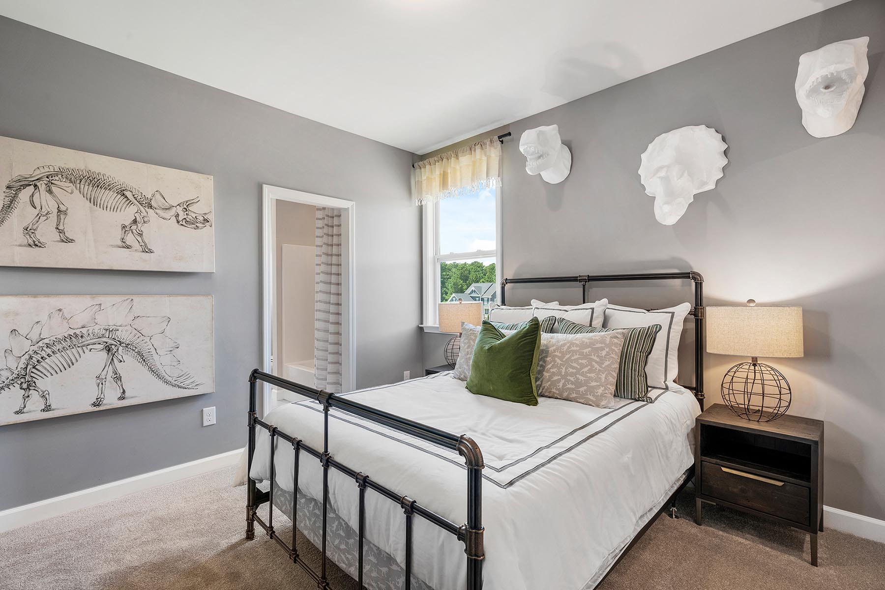 Larkin Plan Bedroom at Fairview Park in Cary North Carolina by Mattamy Homes