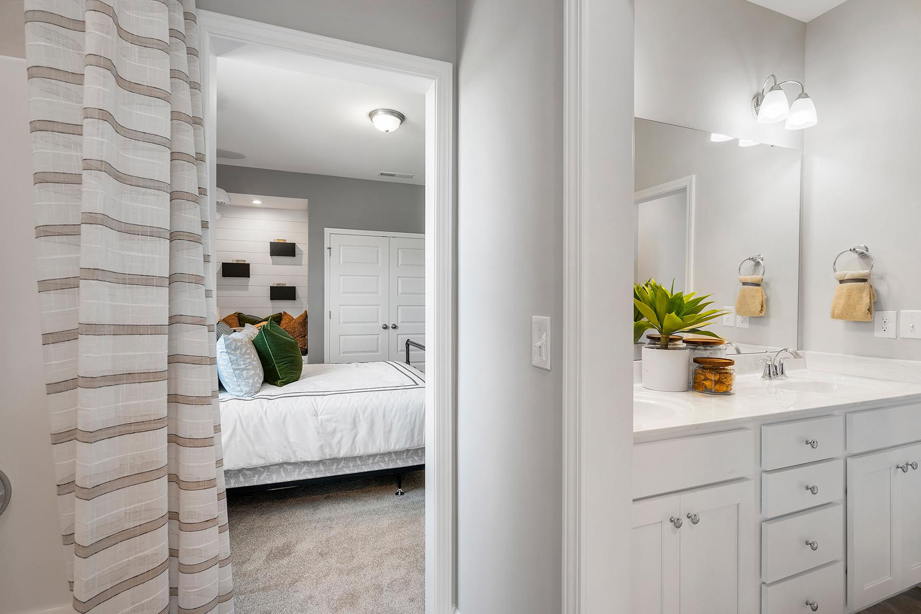 Larkin Plan Bath at Fairview Park in Cary North Carolina by Mattamy Homes