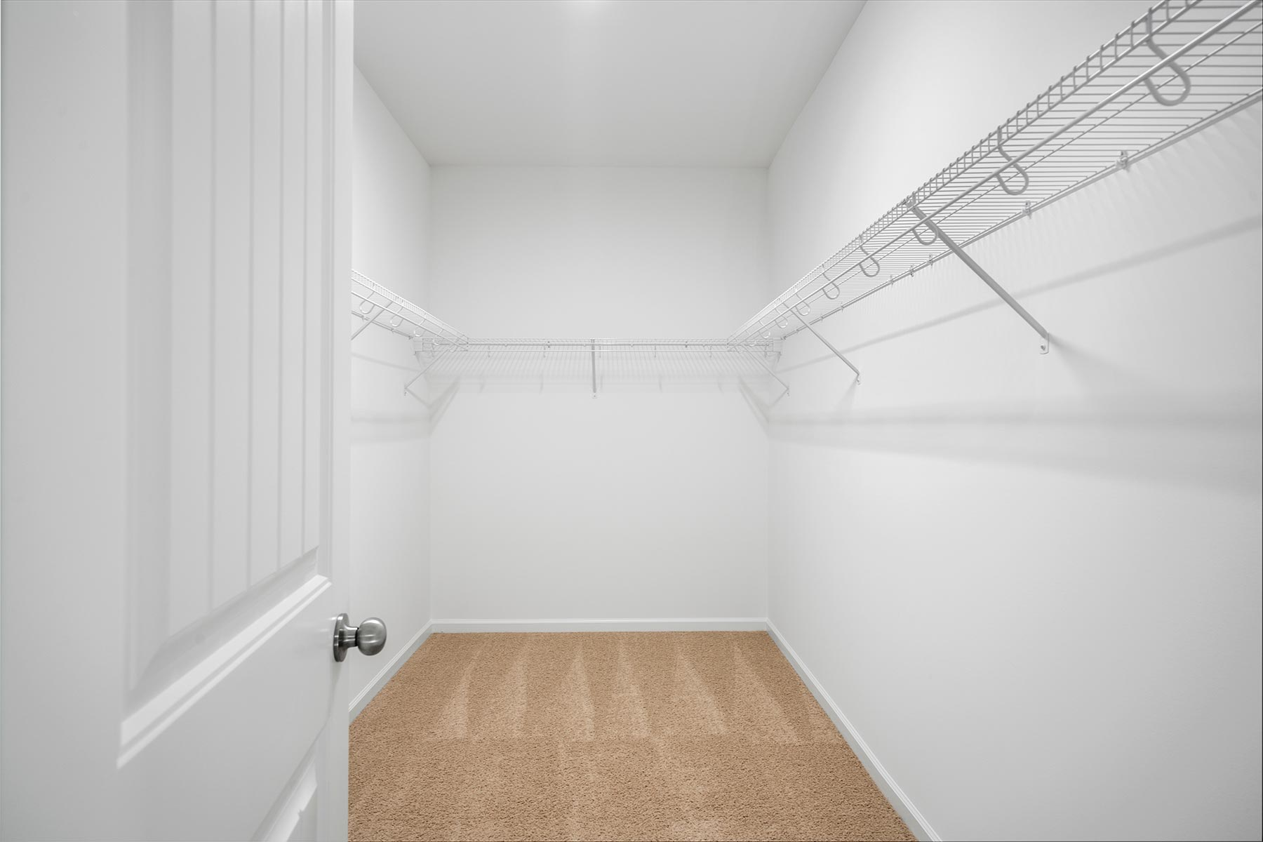 Marshall Plan Closet at Fairview Park in Cary North Carolina by Mattamy Homes