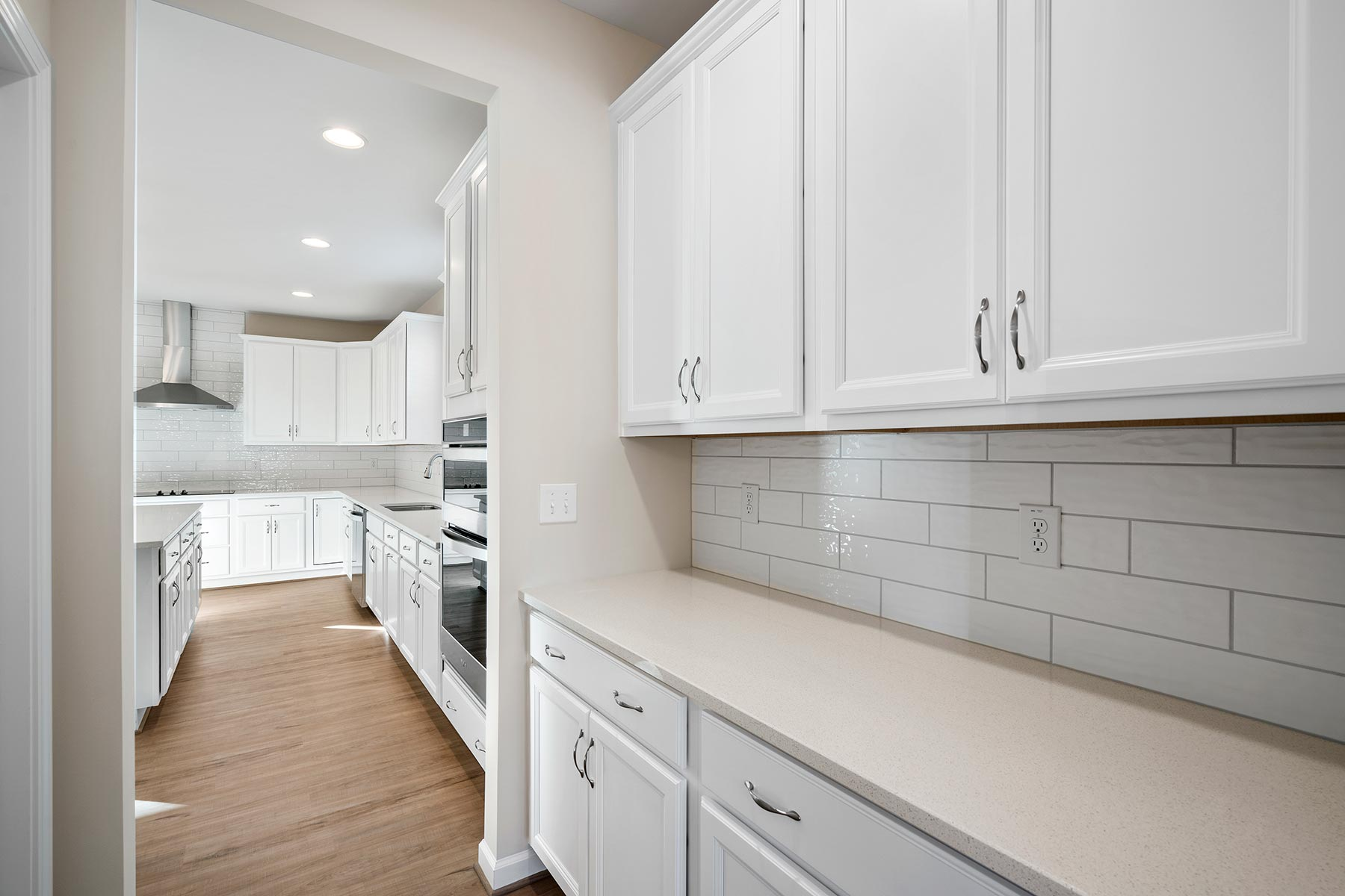 Marshall Plan Pantry at Fairview Park in Cary North Carolina by Mattamy Homes
