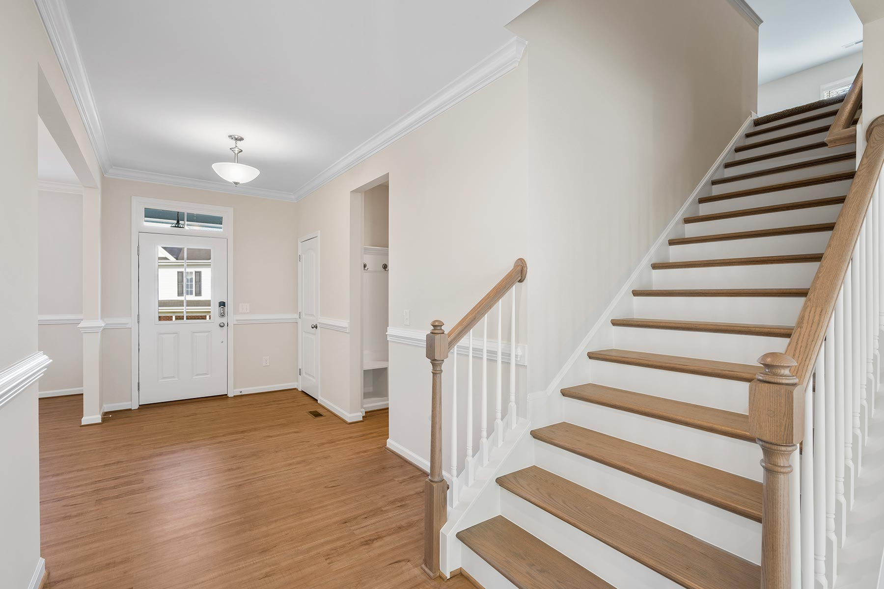 Marshall Plan Foyer at Fairview Park in Cary North Carolina by Mattamy Homes