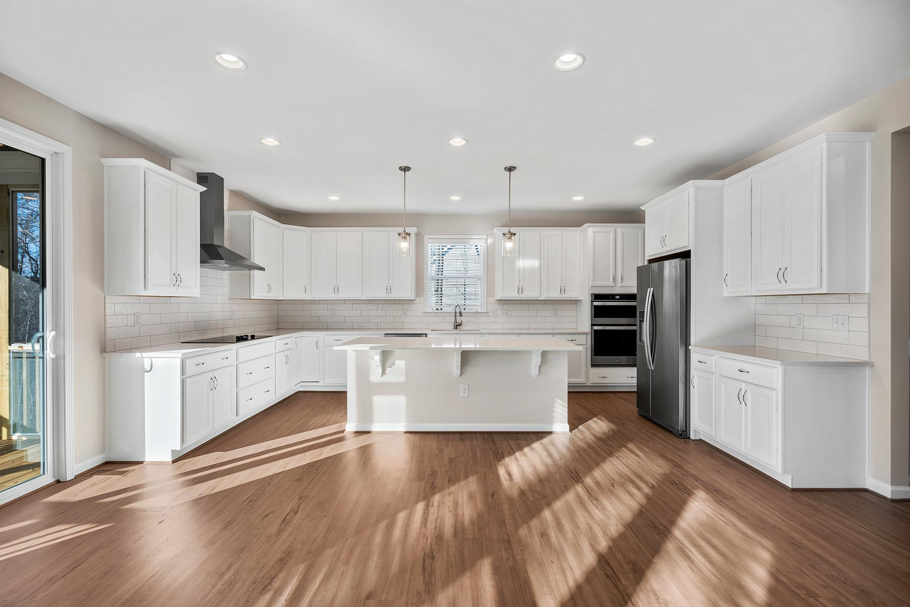 Marshall Plan Kitchen at Fairview Park in Cary North Carolina by Mattamy Homes