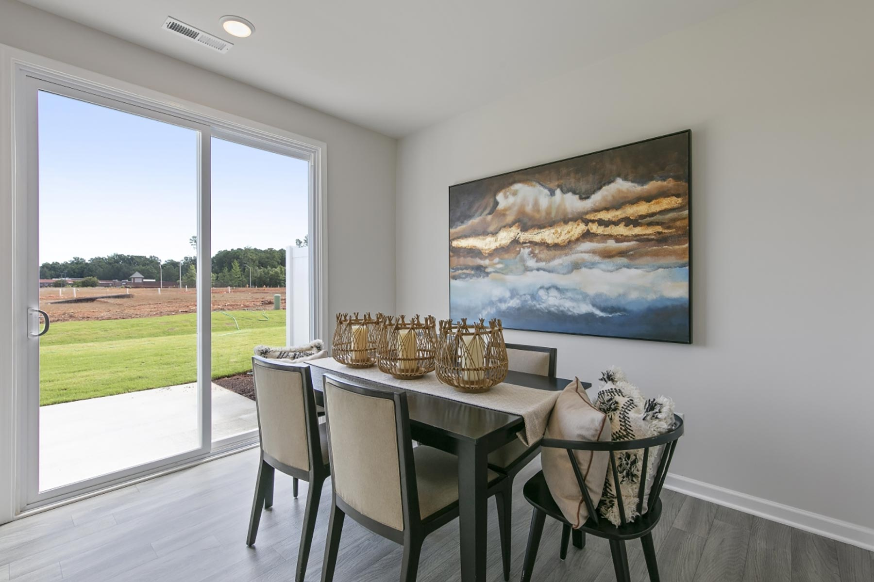 Claymore Plan Dining at Minglewood Townhomes in Garner North Carolina by Mattamy Homes