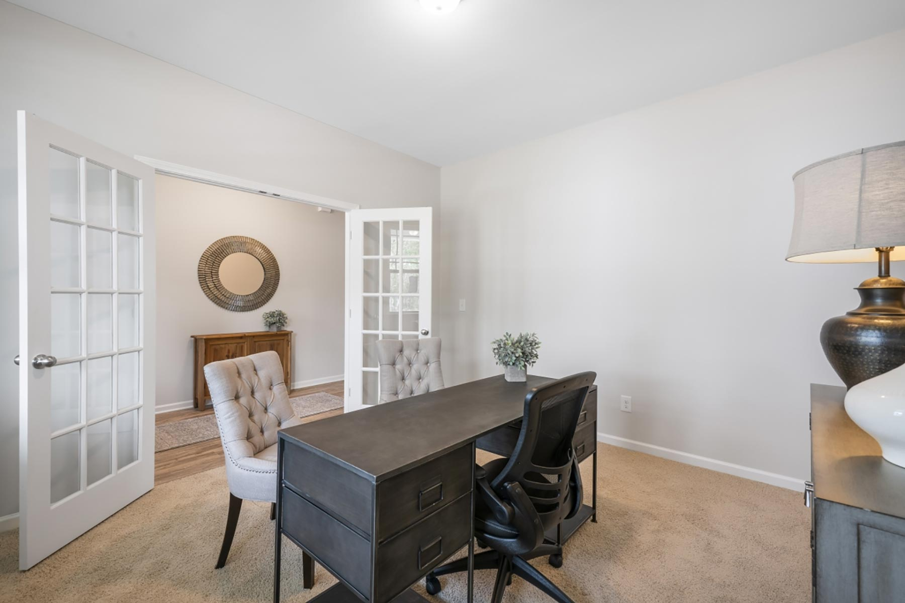 Evelyn Plan Study Room at Wendell Falls in Wendell North Carolina by Mattamy Homes