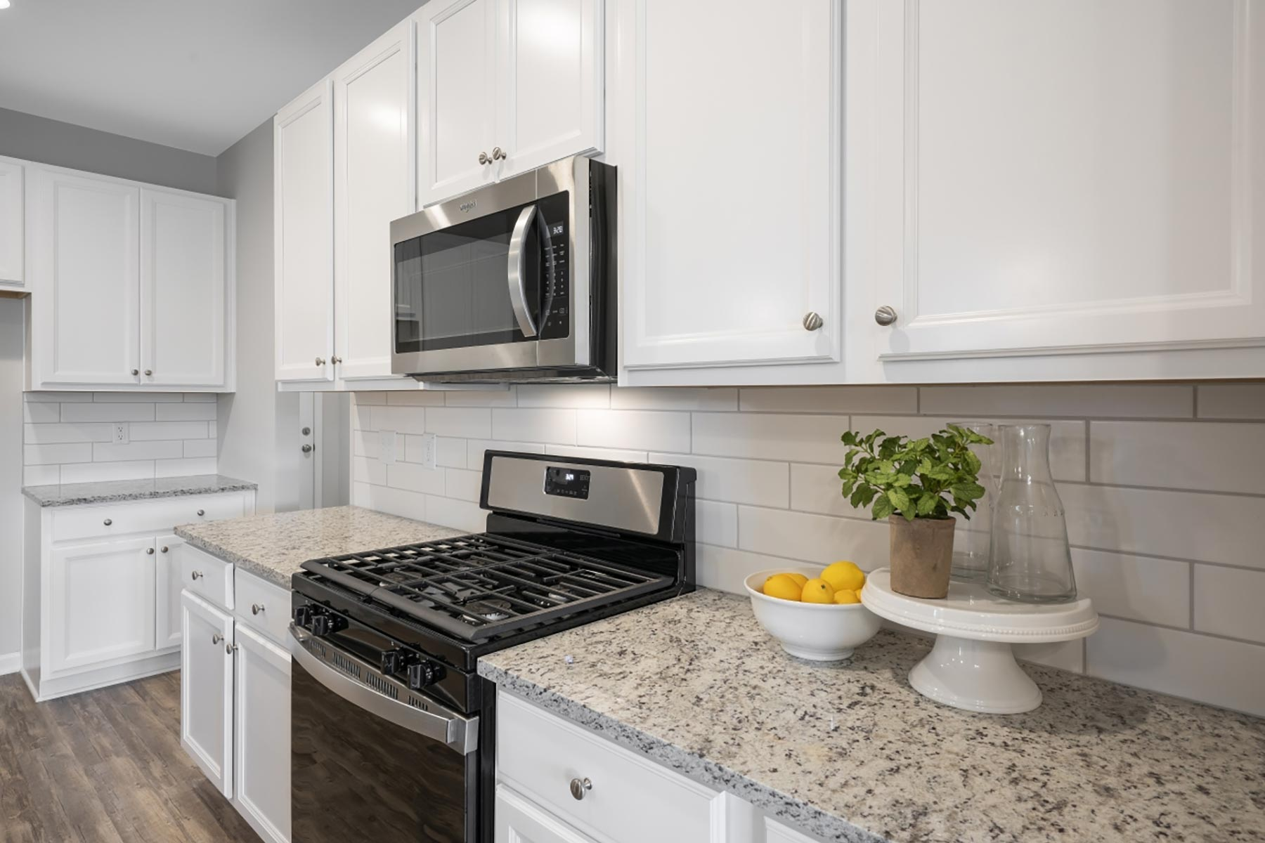 Evelyn Plan rdu-bedford-evelyn-kitchen at Wendell Falls in Wendell North Carolina by Mattamy Homes