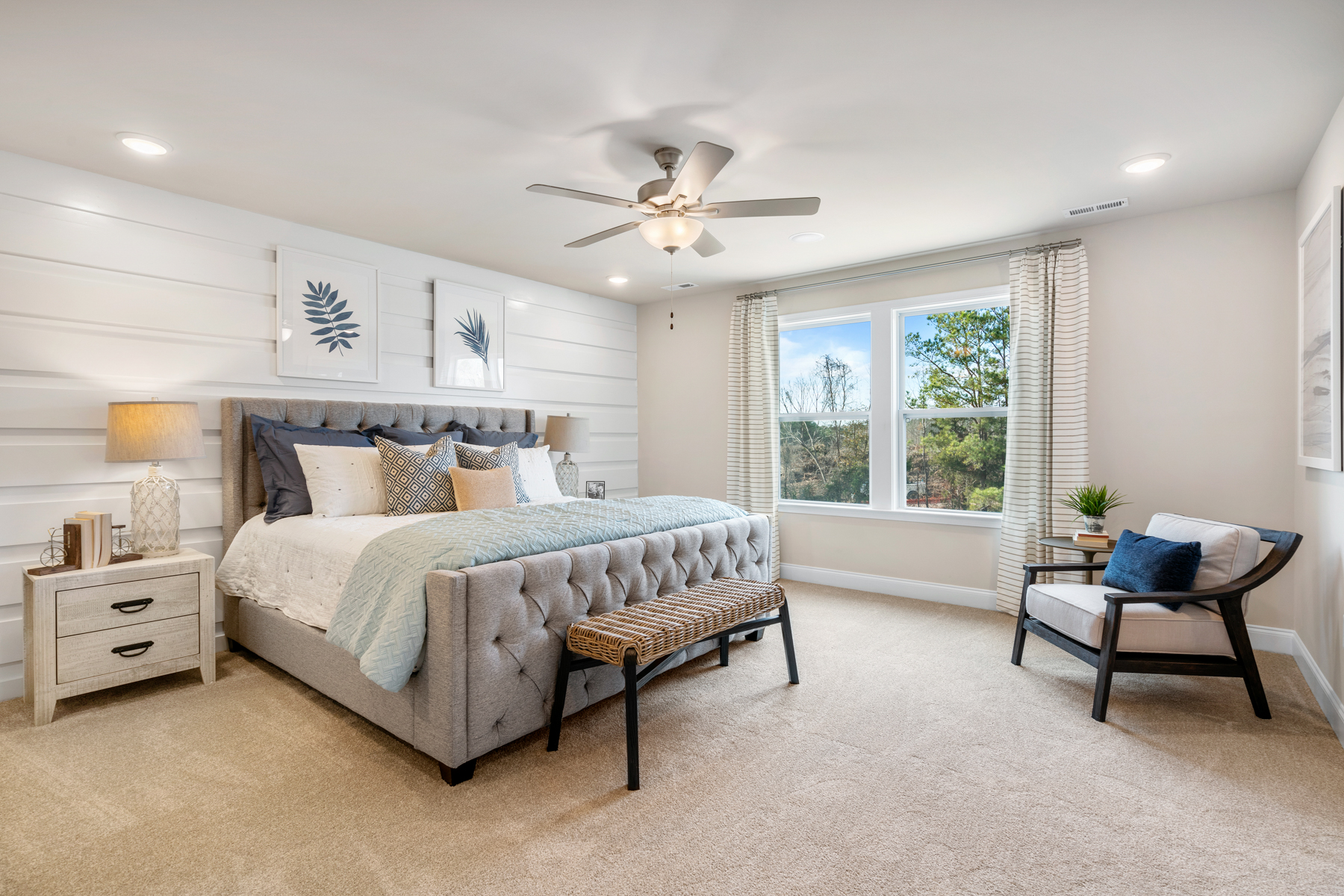 Oak Park Bedroom in Garner North Carolina by Mattamy Homes