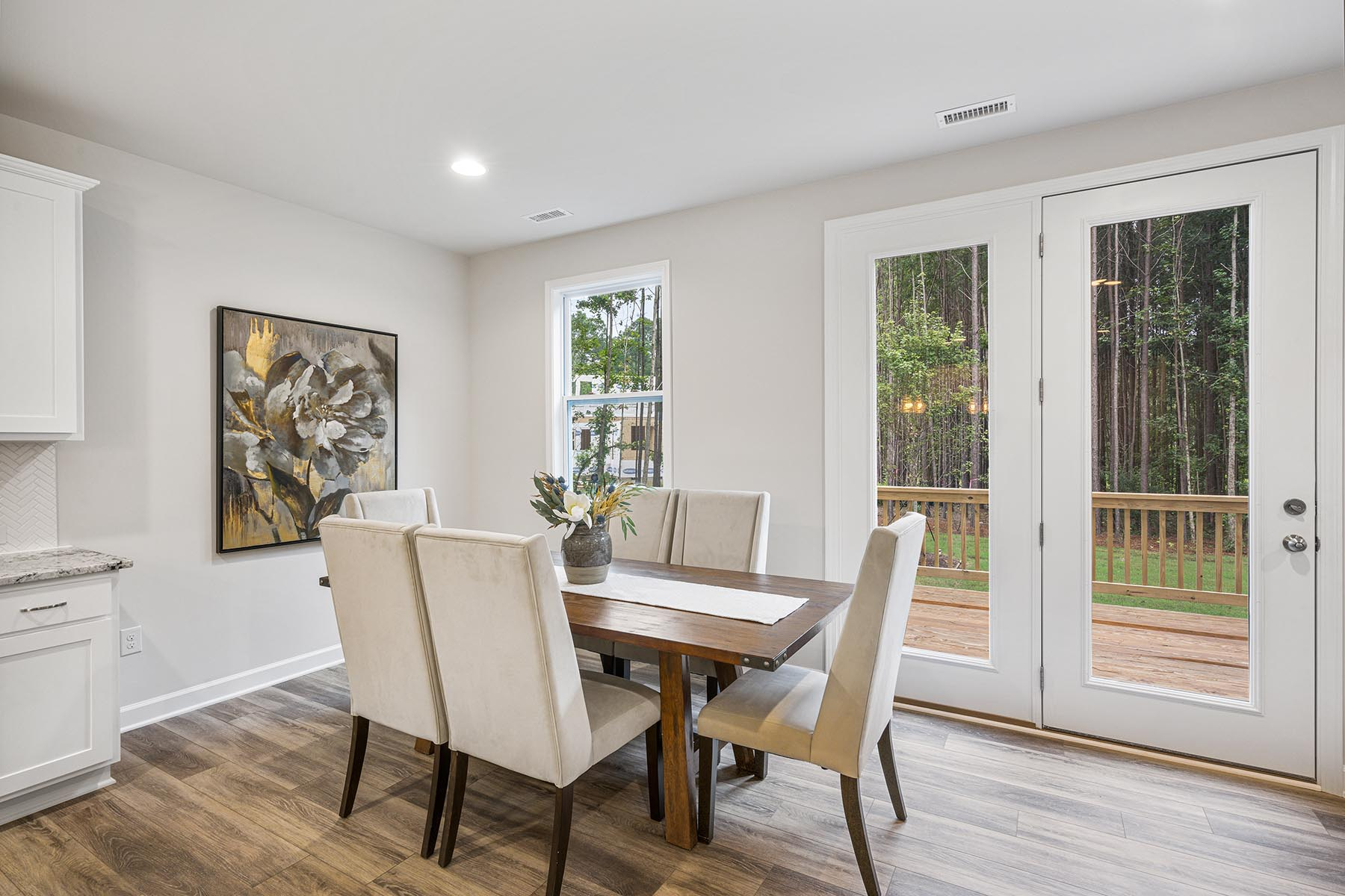 Kendrick Plan Dining at Portofino in Clayton North Carolina by Mattamy Homes