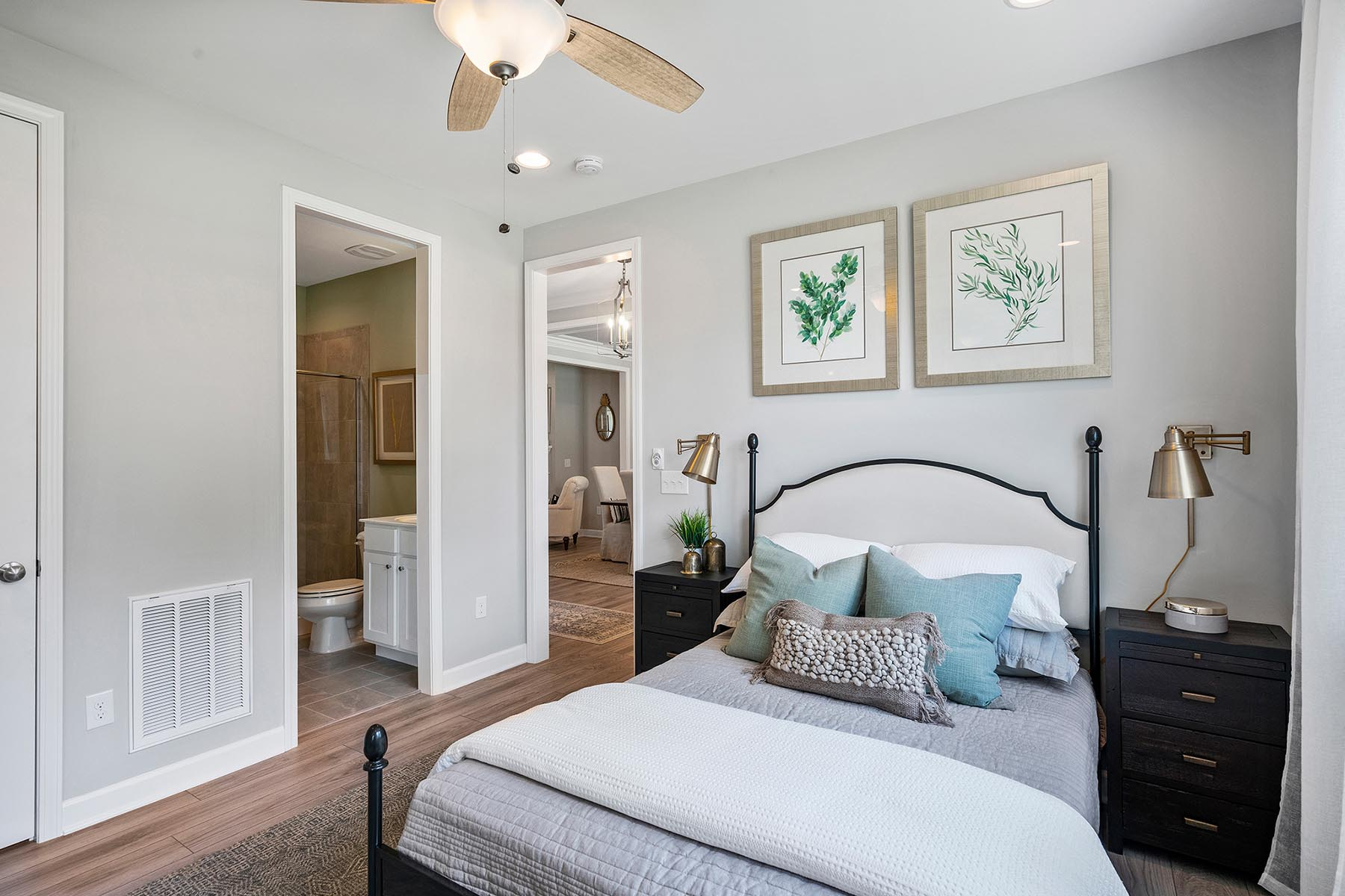 Larkin Plan Bedroom at Portofino in Clayton North Carolina by Mattamy Homes