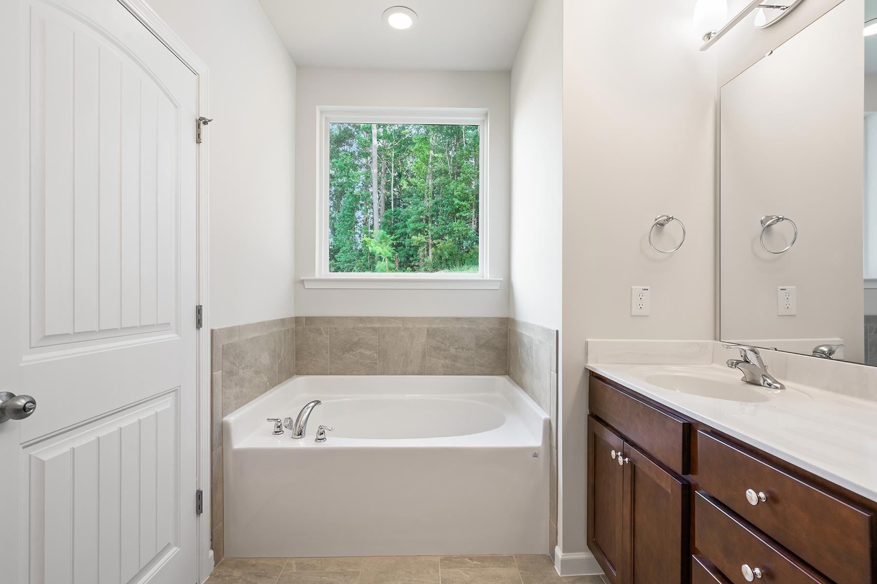 Winston Plan Bath at Ballentine Place in Holly Springs North Carolina by Mattamy Homes