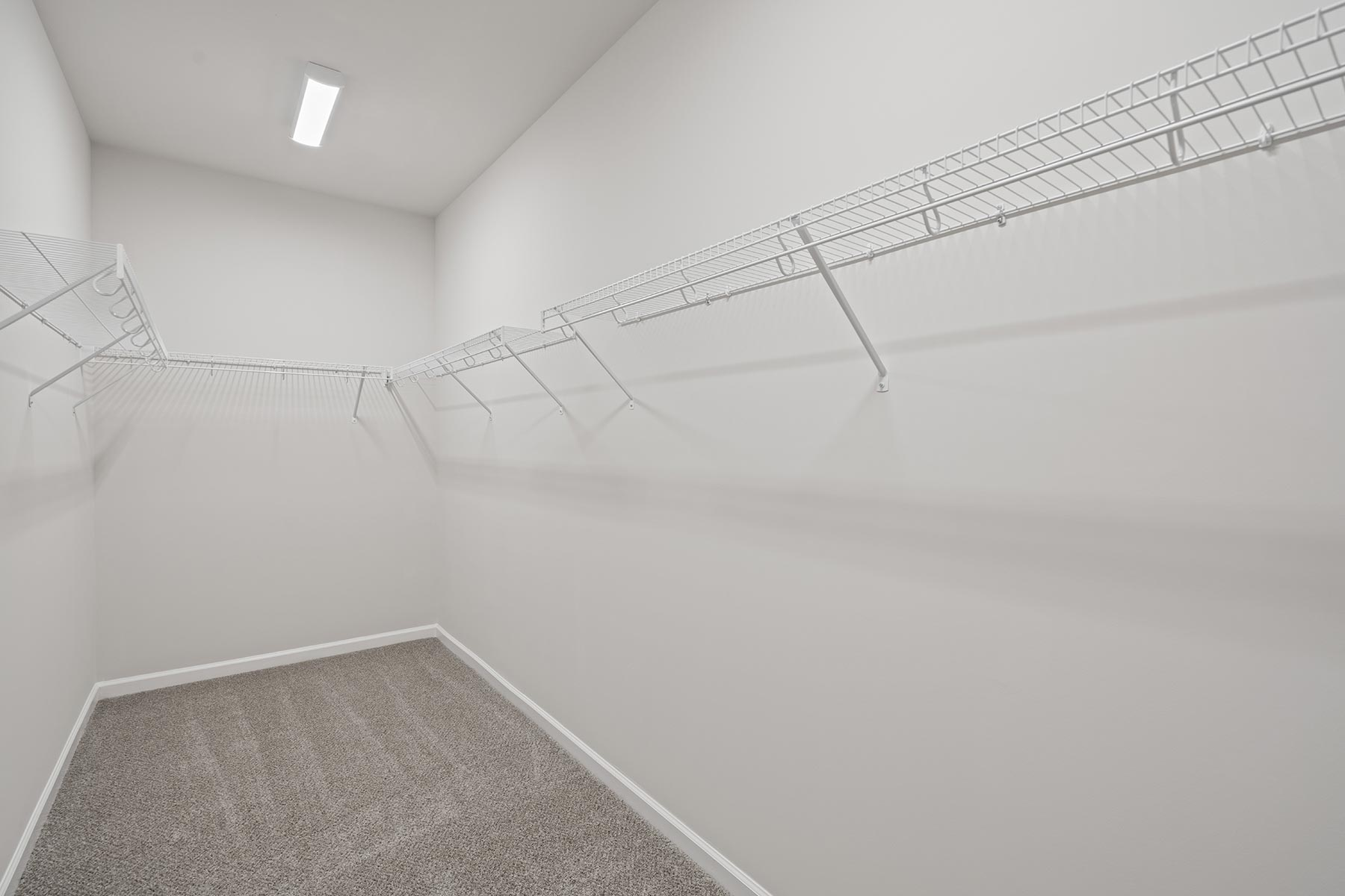 Winston Plan Closet at Ballentine Place in Holly Springs North Carolina by Mattamy Homes