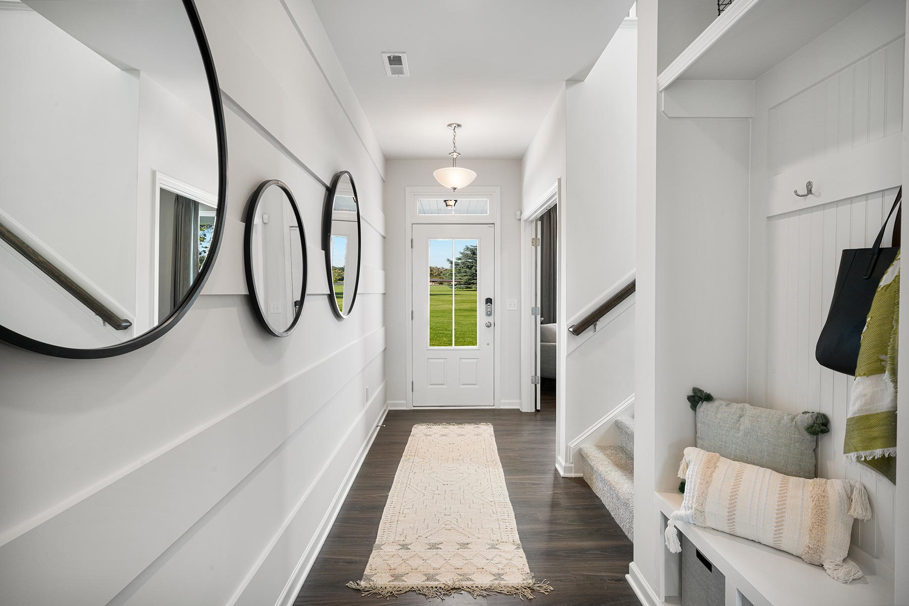 Gaines Plan Foyer at Wendell Falls in Wendell North Carolina by Mattamy Homes