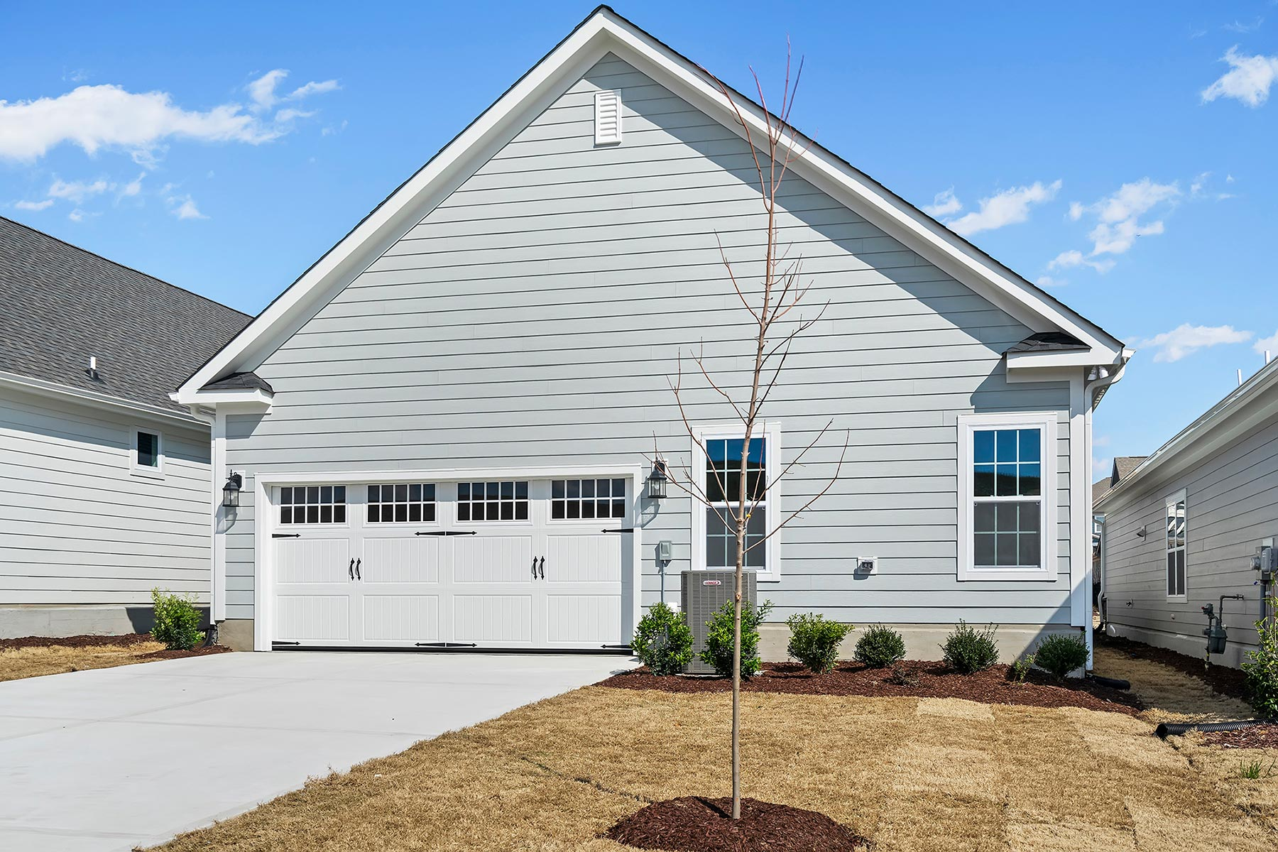 Tucker Plan Elevation Back Side at Wendell Falls in Wendell North Carolina by Mattamy Homes