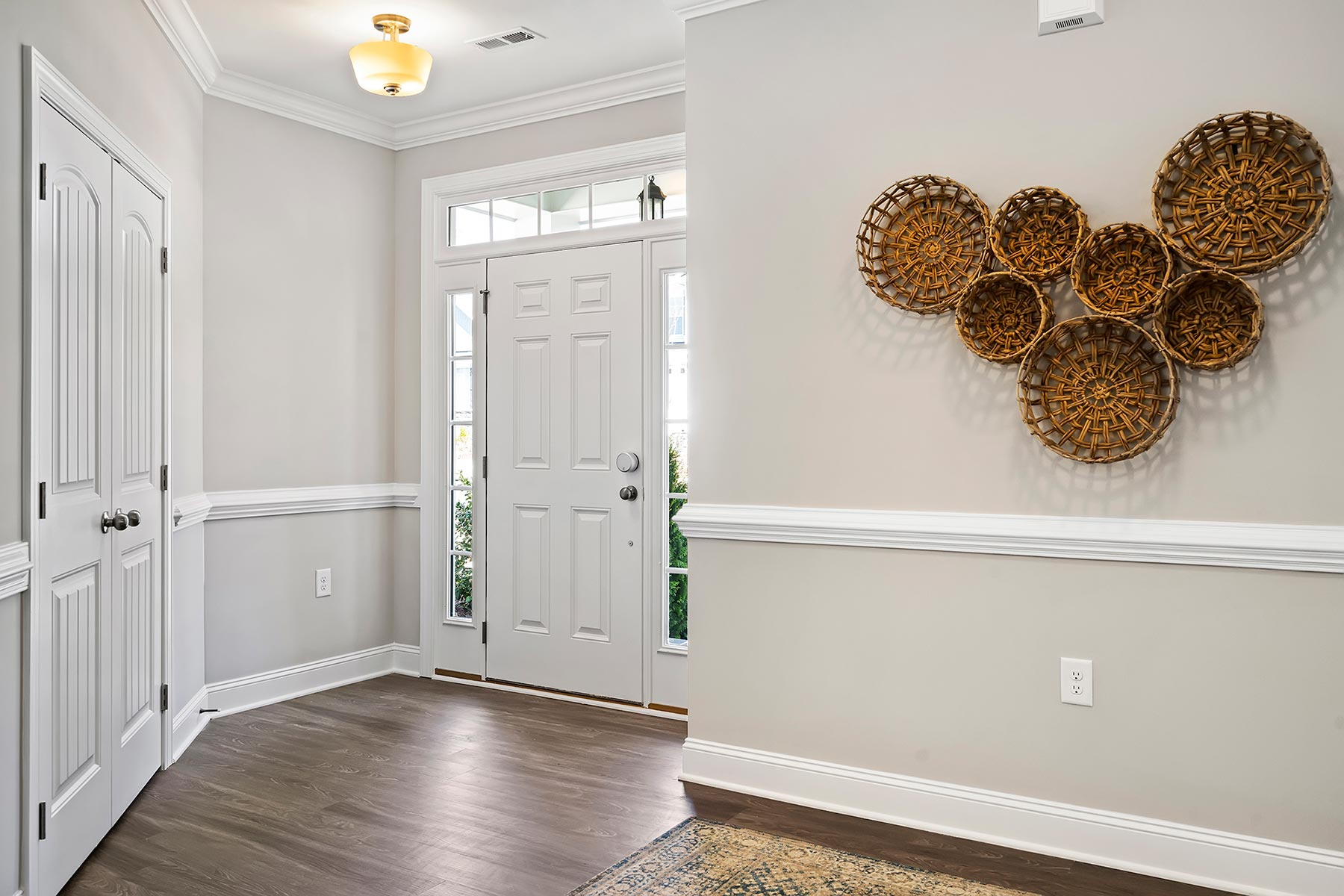 Tucker Plan Foyer at Wendell Falls in Wendell North Carolina by Mattamy Homes