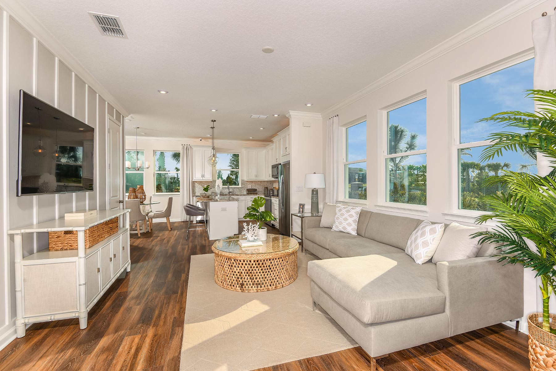 Harmony at Lakewood Ranch Greatroom in Lakewood Ranch Florida by Mattamy Homes