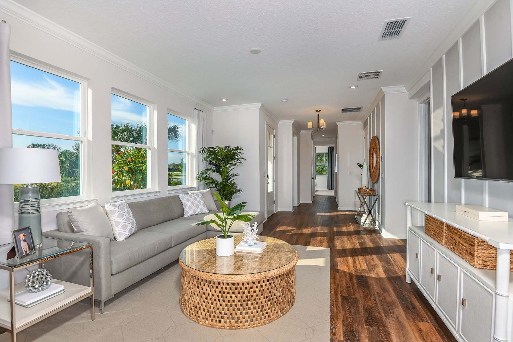 Driftwood II End Plan Greatroom at Harmony at Lakewood Ranch in Lakewood Ranch Florida by Mattamy Homes