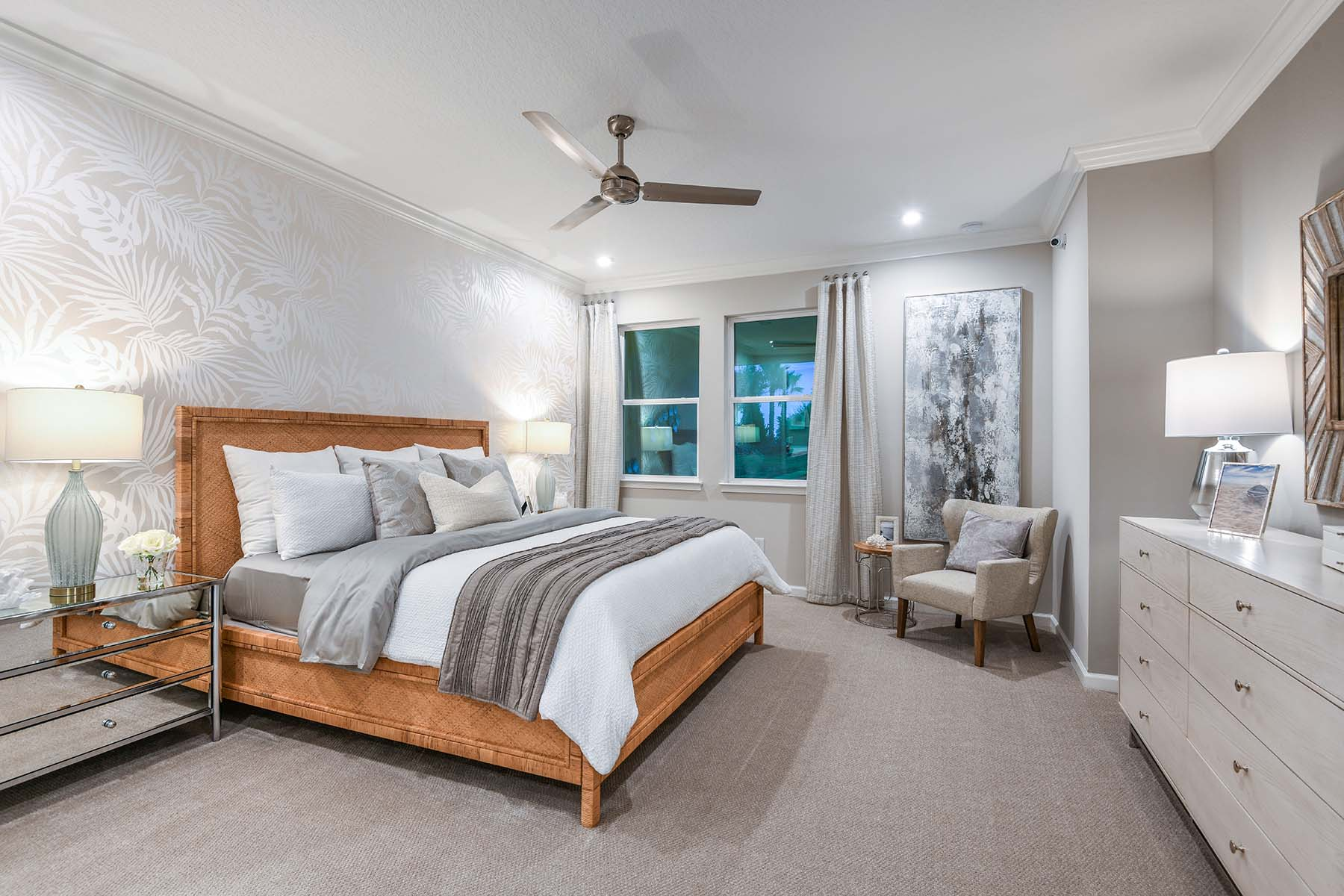 Driftwood II End Plan Bedroom at Harmony at Lakewood Ranch in Lakewood Ranch Florida by Mattamy Homes