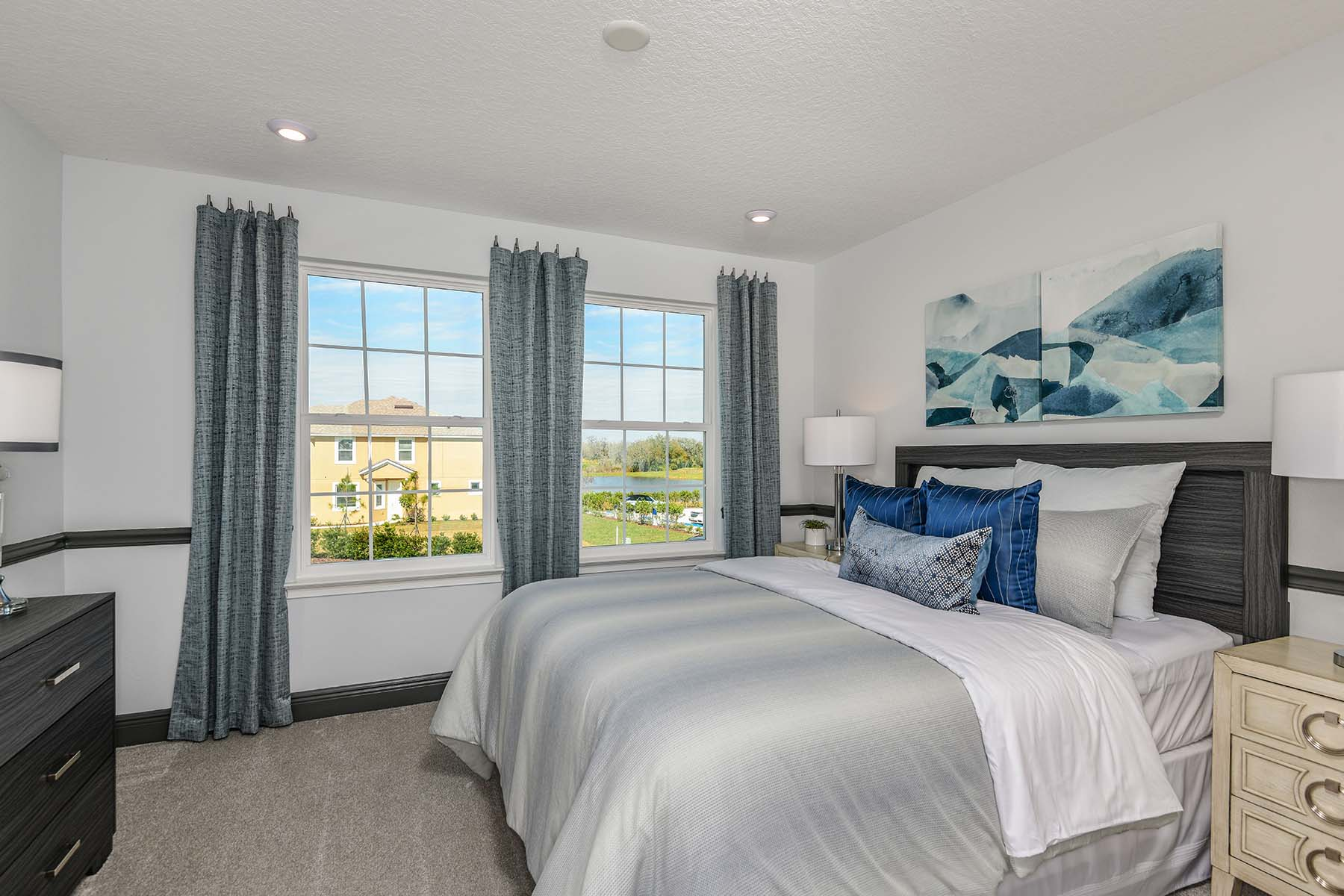 Seaside II End Plan Bedroom at Harmony at Lakewood Ranch in Lakewood Ranch Florida by Mattamy Homes