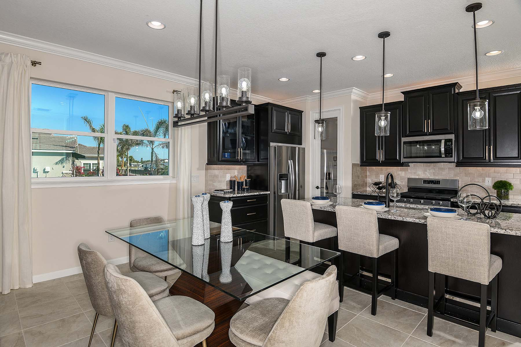 Bayport Plan Dining at Sunrise Preserve at Palmer Ranch in Sarasota Florida by Mattamy Homes