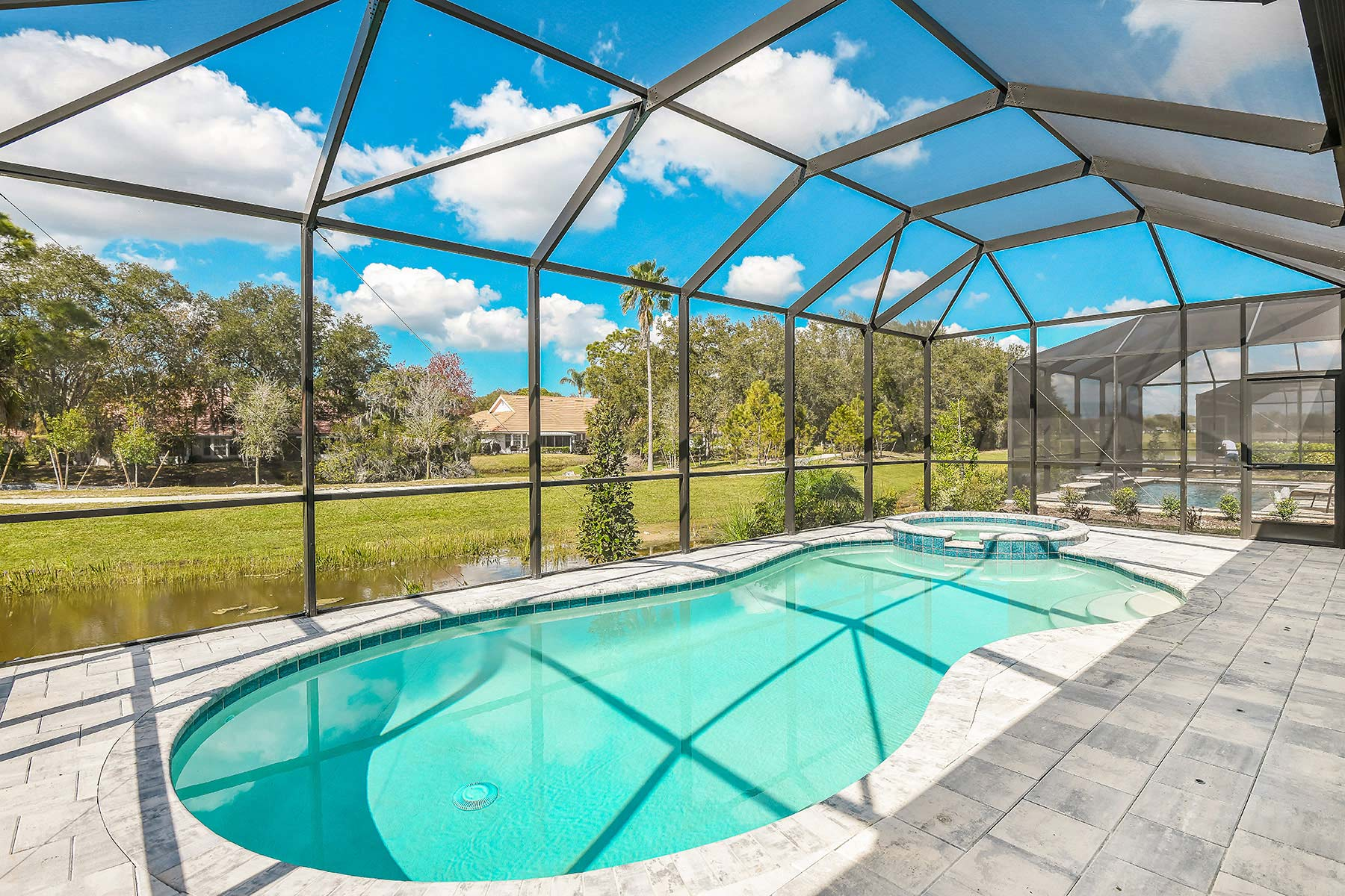 Dayspring Plan WaterFeatures at Sunrise Preserve at Palmer Ranch in Sarasota Florida by Mattamy Homes