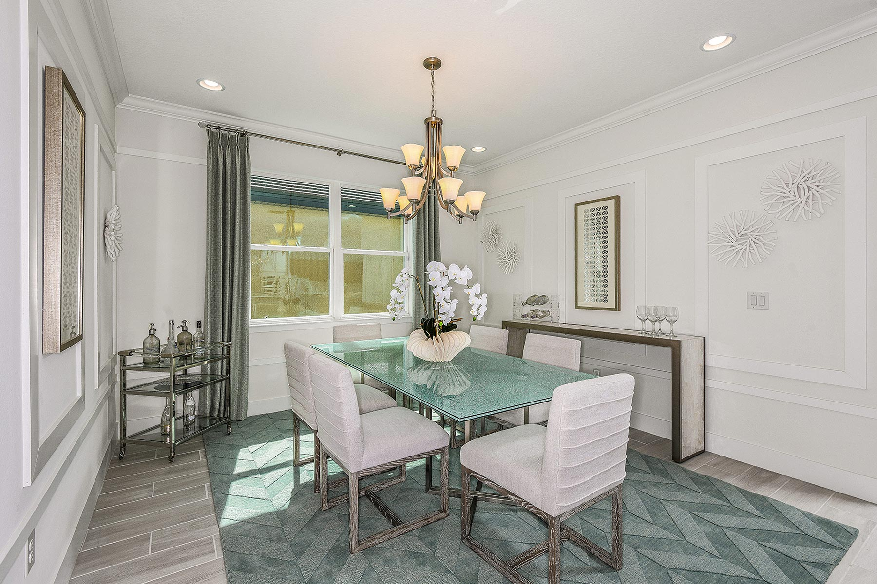Jubilee Plan Dining at Sunrise Preserve at Palmer Ranch in Sarasota Florida by Mattamy Homes