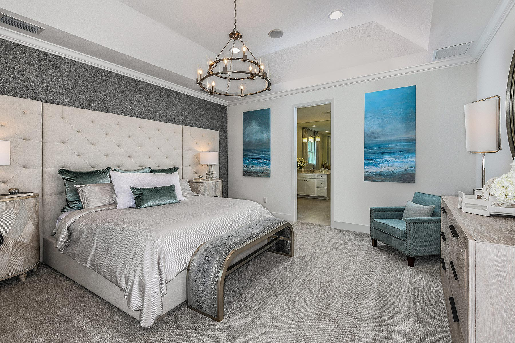 Jubilee Plan Bedroom at Sunrise Preserve at Palmer Ranch in Sarasota Florida by Mattamy Homes