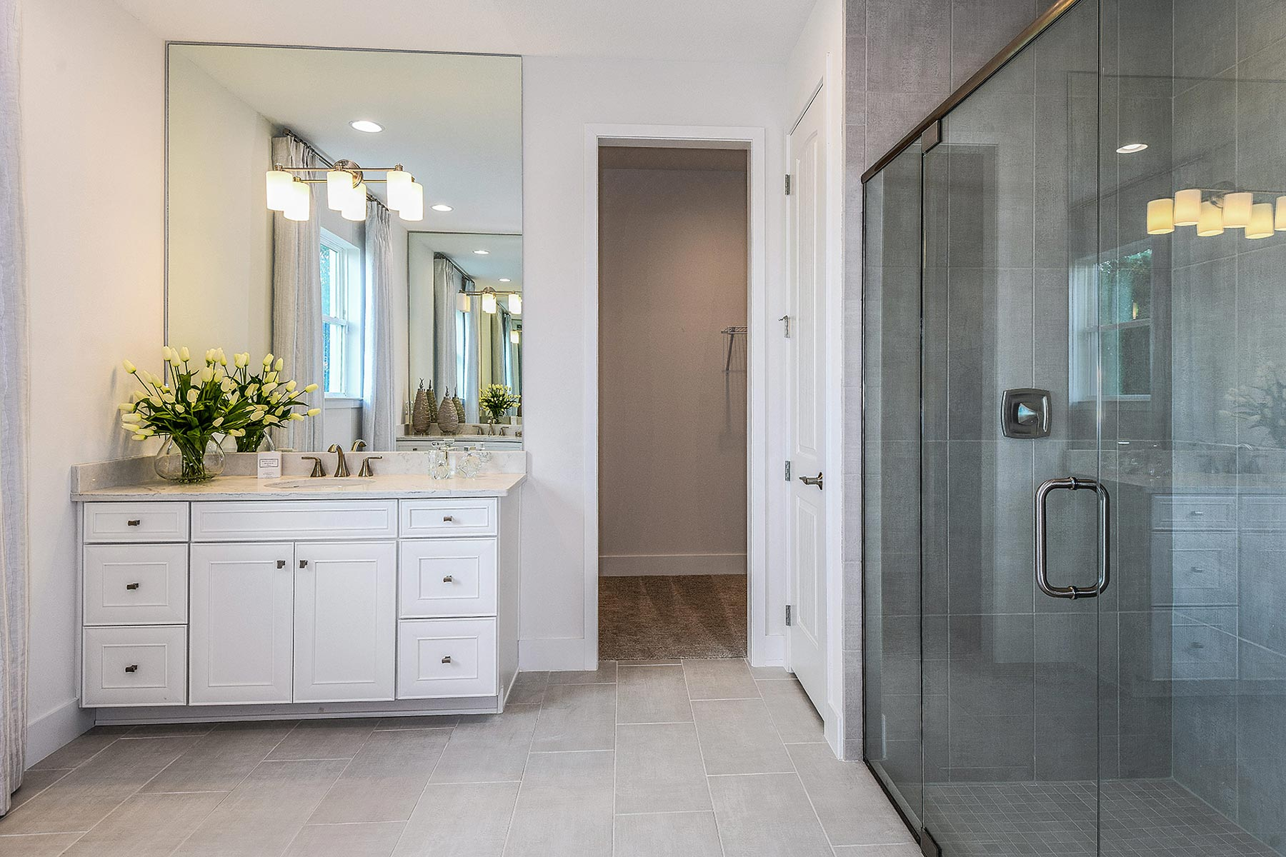 Jubilee Plan Bathroom_Master Bath at Sunrise Preserve at Palmer Ranch in Sarasota Florida by Mattamy Homes