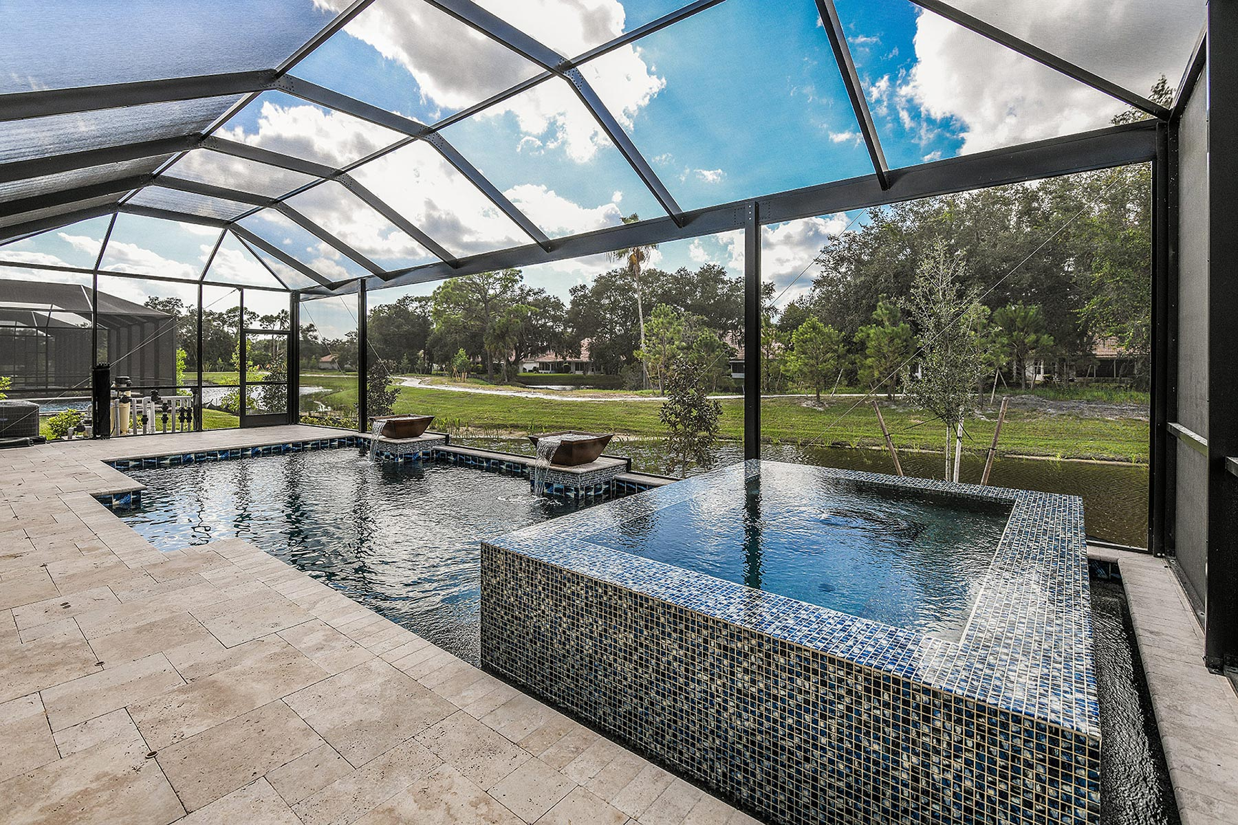 Jubilee Plan WaterFeatures at Sunrise Preserve at Palmer Ranch in Sarasota Florida by Mattamy Homes