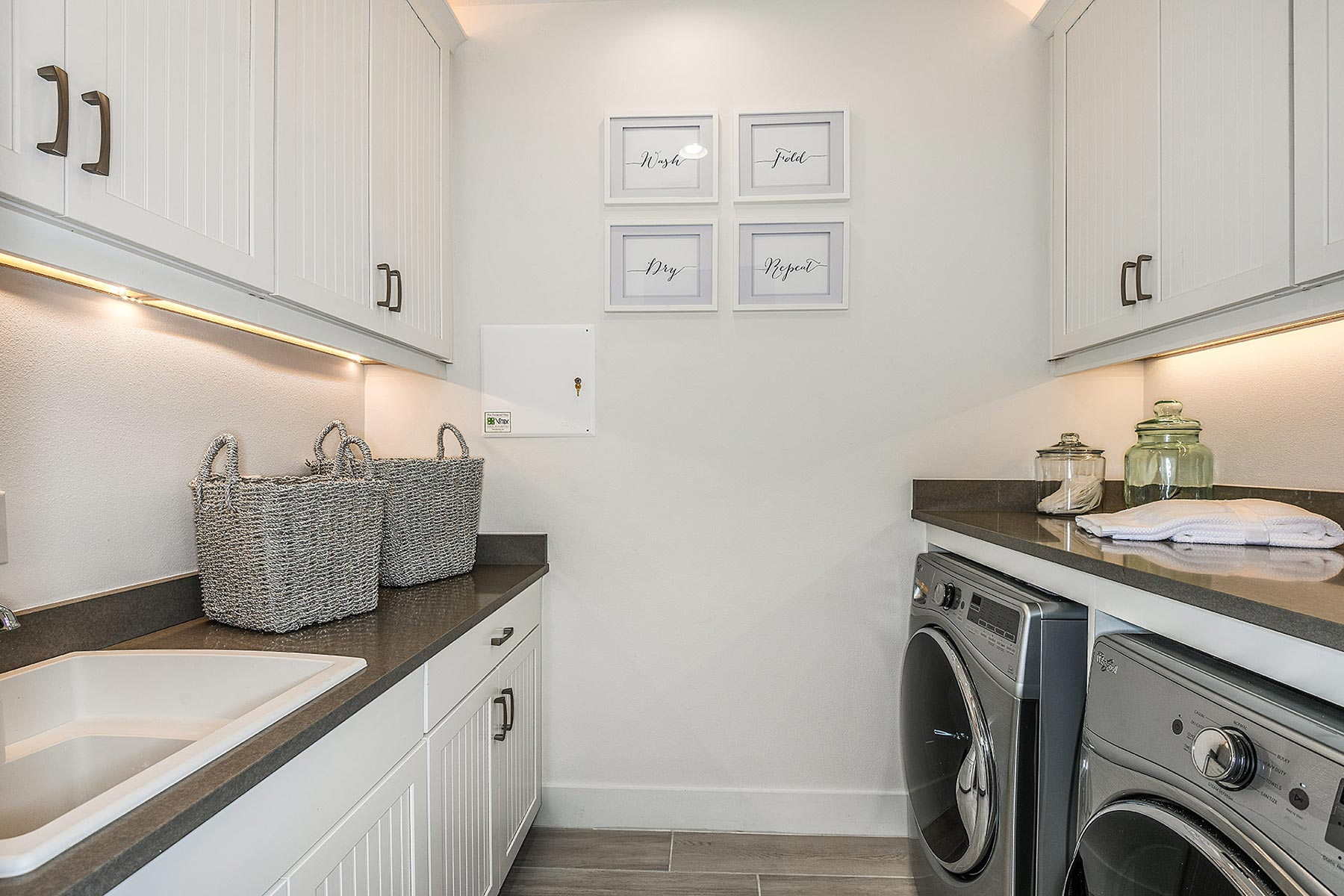 Jubilee Plan Laundry at Sunrise Preserve at Palmer Ranch in Sarasota Florida by Mattamy Homes