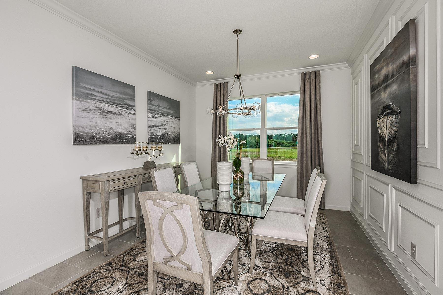 Seascape Plan Dining at Sunrise Preserve at Palmer Ranch in Sarasota Florida by Mattamy Homes