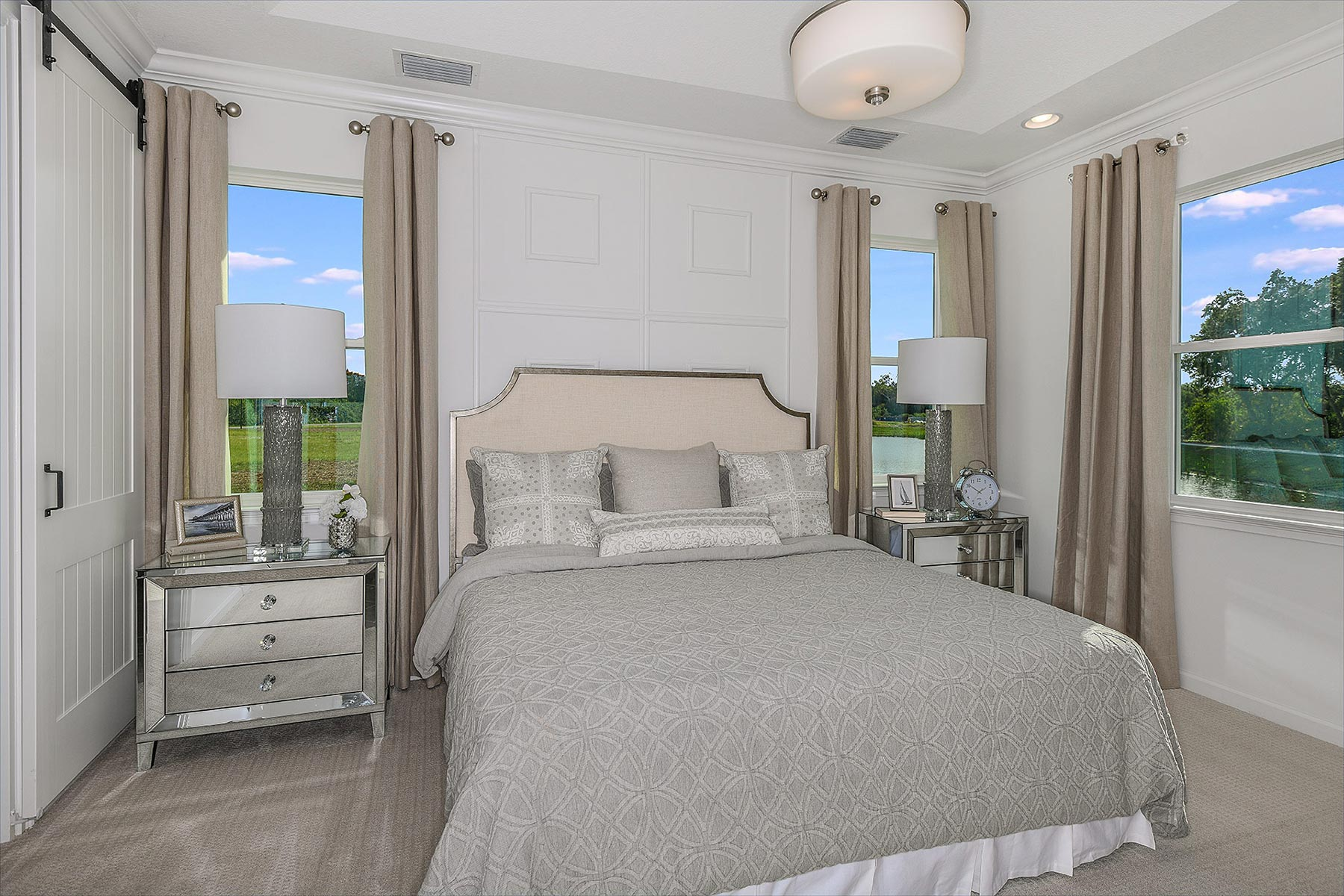 Seascape Plan Bedroom at Sunrise Preserve at Palmer Ranch in Sarasota Florida by Mattamy Homes