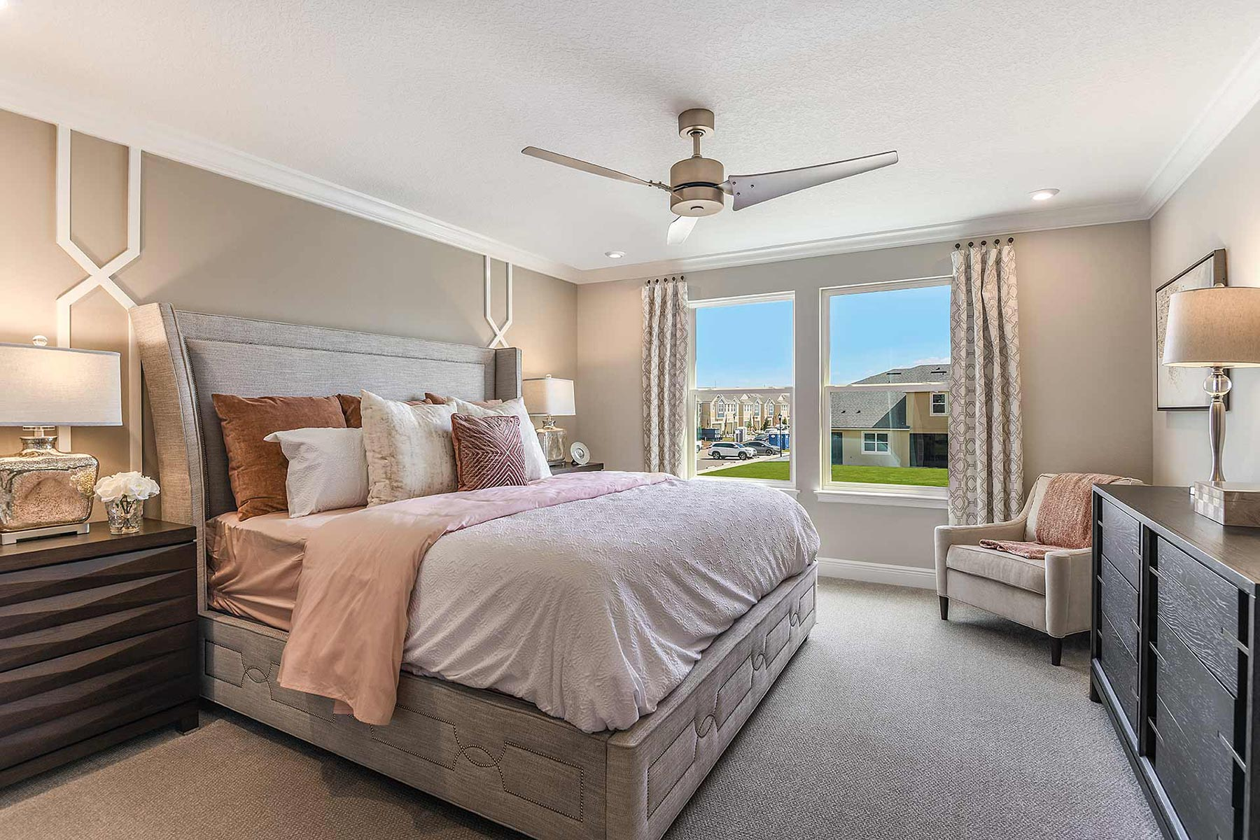 Avea Pointe Bedroom in Lutz Florida by Mattamy Homes