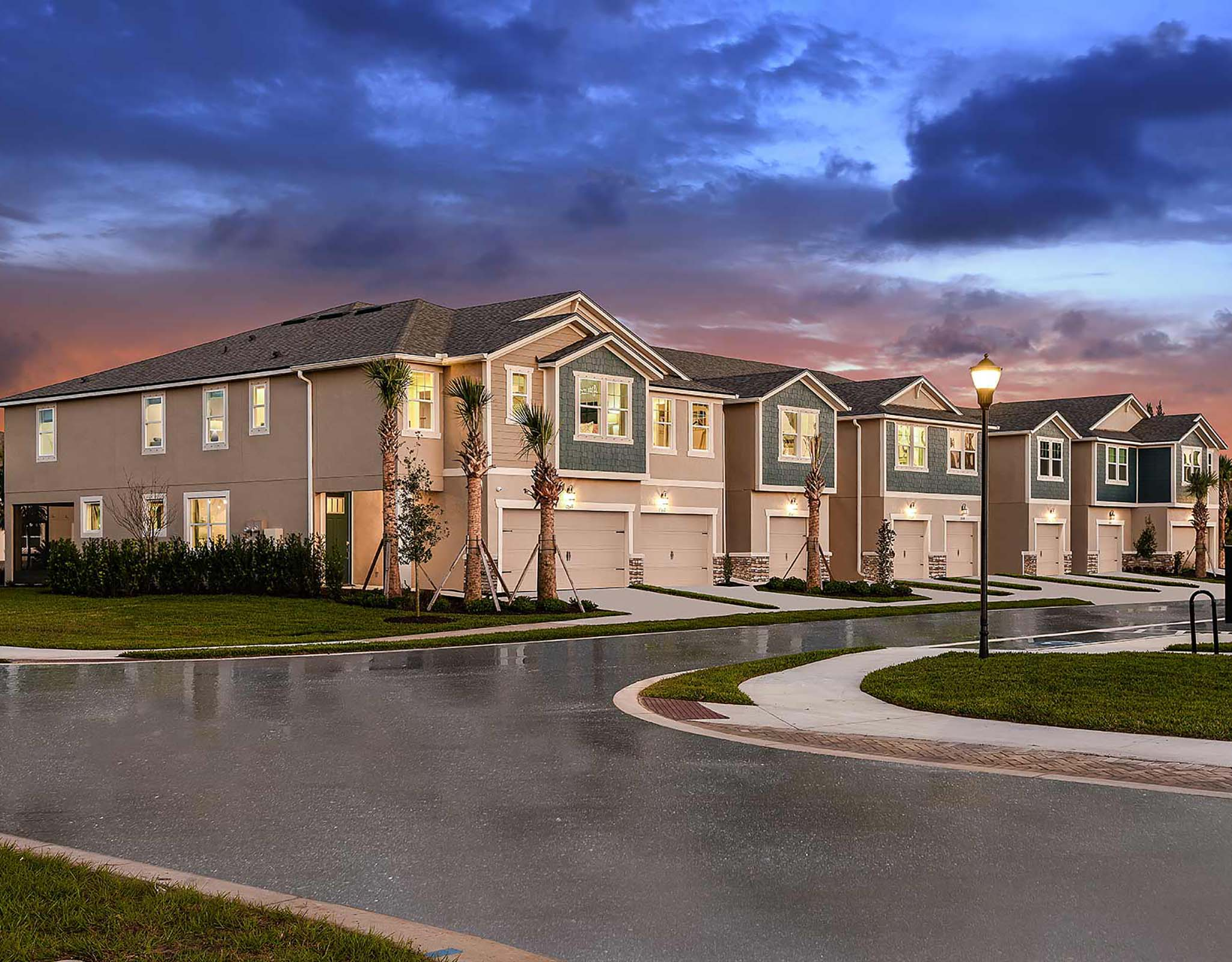 Avea Pointe TownHomes in Lutz Florida by Mattamy Homes