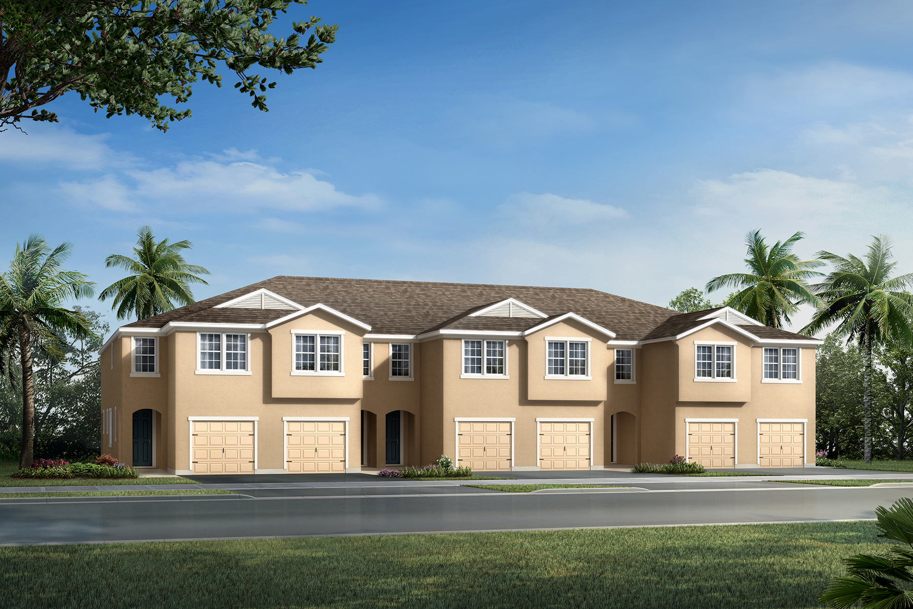 Marianna Plan Elevation Front at Avea Pointe in Lutz Florida by Mattamy Homes
