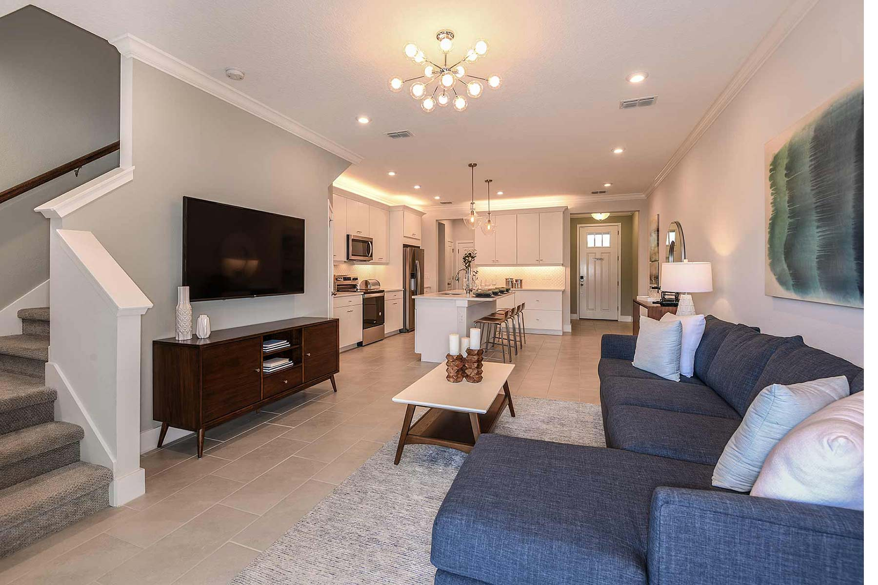 Citron Grove Greatroom in Citrus Park Florida by Mattamy Homes