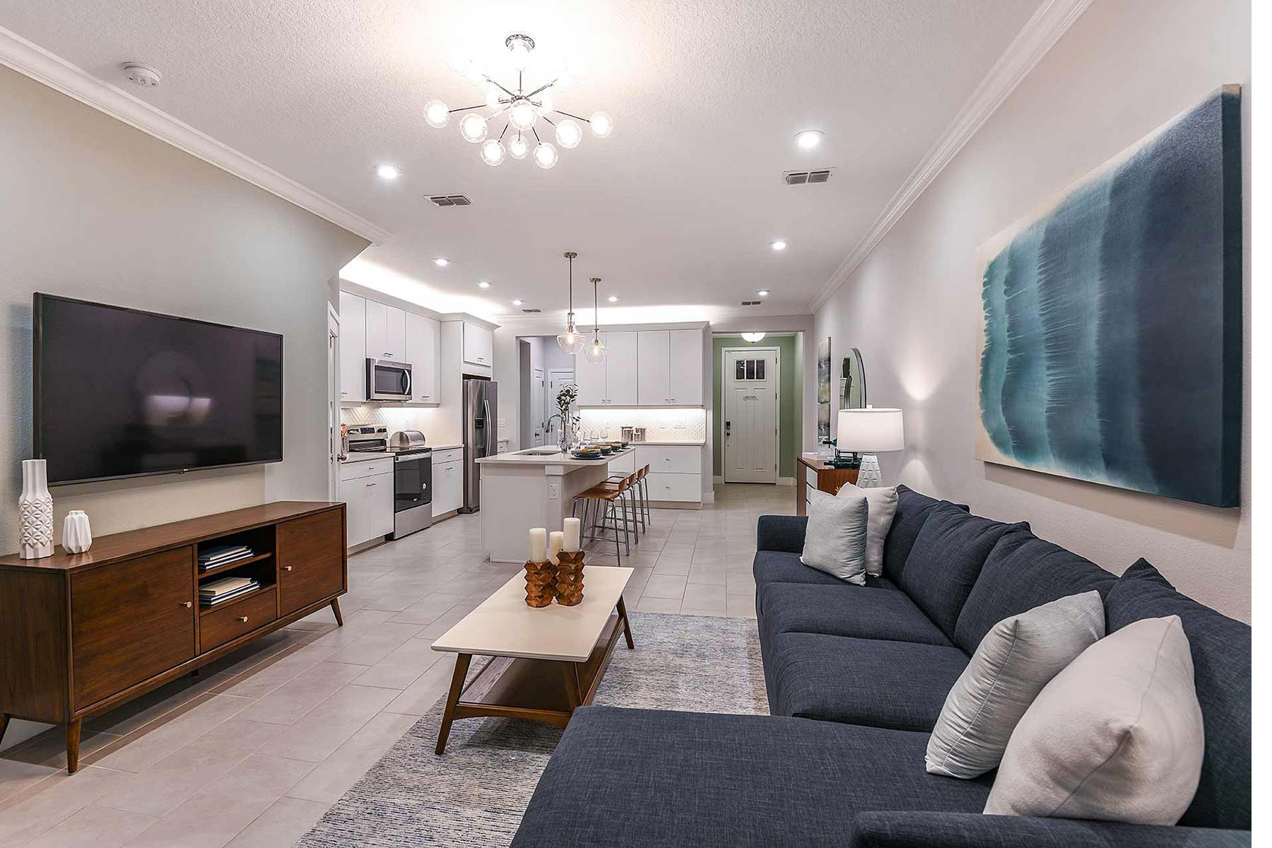 Volanti Greatroom in Wesley Chapel Florida by Mattamy Homes