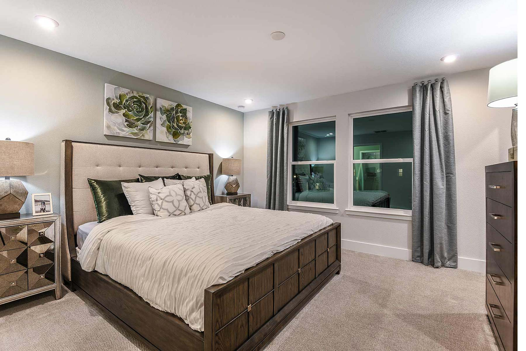 Citron Grove Bedroom in Citrus Park Florida by Mattamy Homes