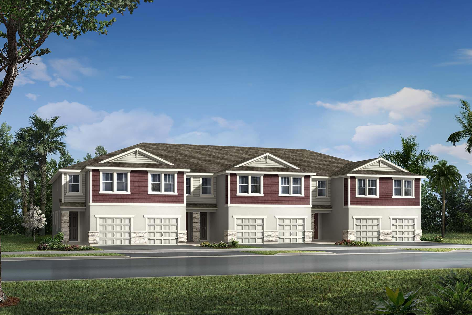 Ormond Plan AveaPointe_Marianna_Ormond_Craftsman at Volanti in Wesley Chapel Florida by Mattamy Homes
