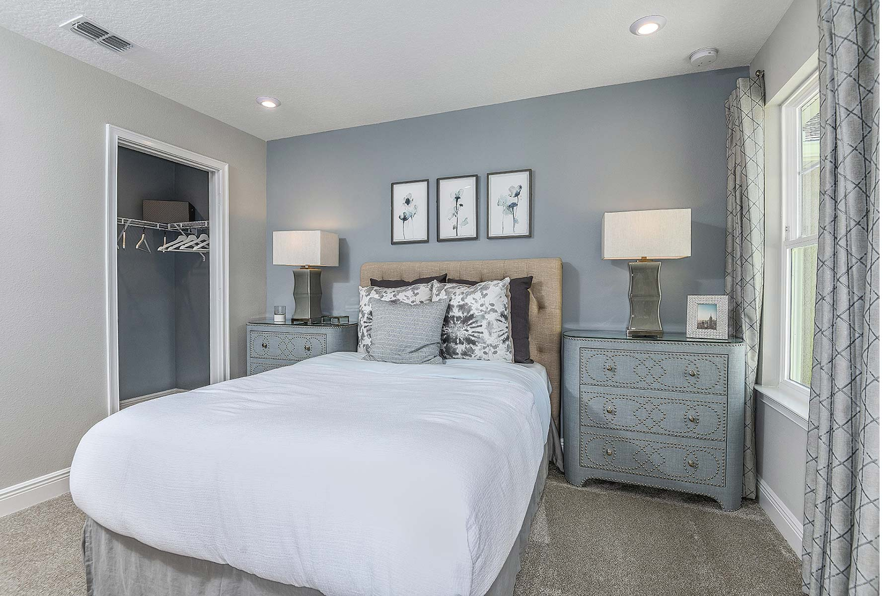 Ormond Plan Bedroom at Volanti in Wesley Chapel Florida by Mattamy Homes