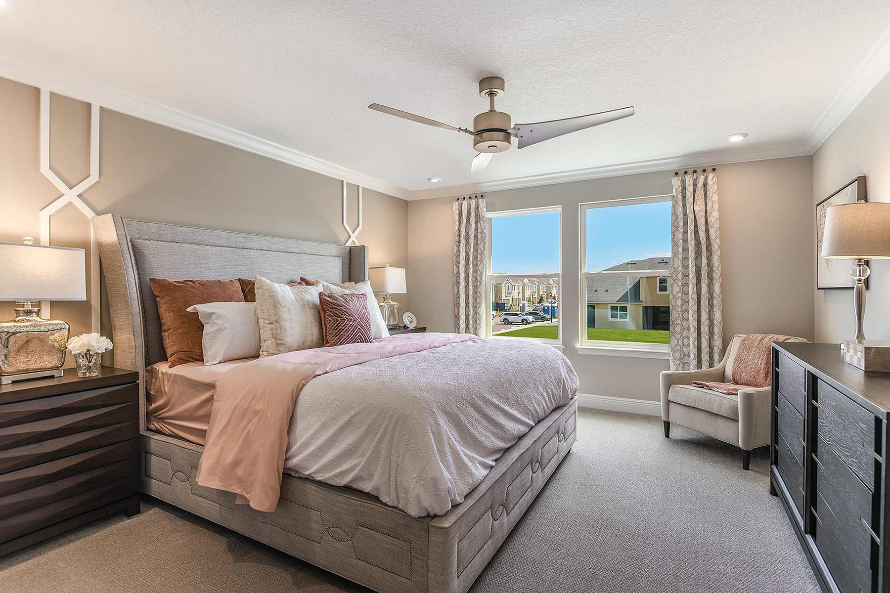 Sebring Plan Bedroom at Avea Pointe in Lutz Florida by Mattamy Homes
