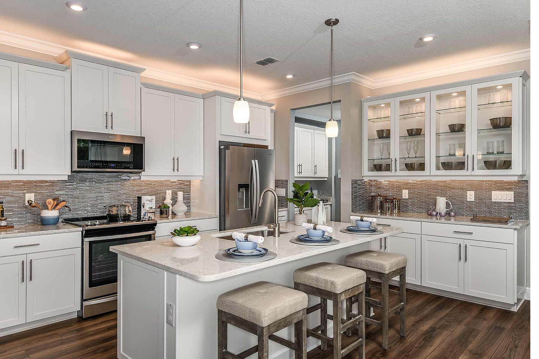 Venice Plan Kitchen at Avea Pointe in Lutz Florida by Mattamy Homes