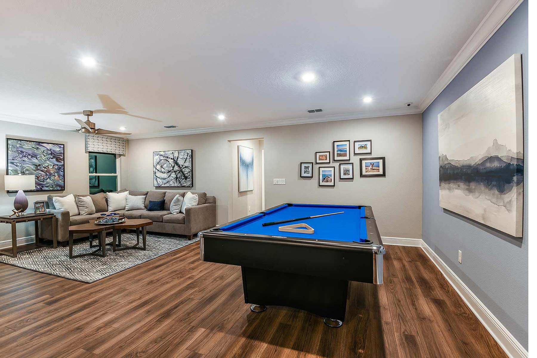 Venice Plan Recreation Room at Avea Pointe in Lutz Florida by Mattamy Homes