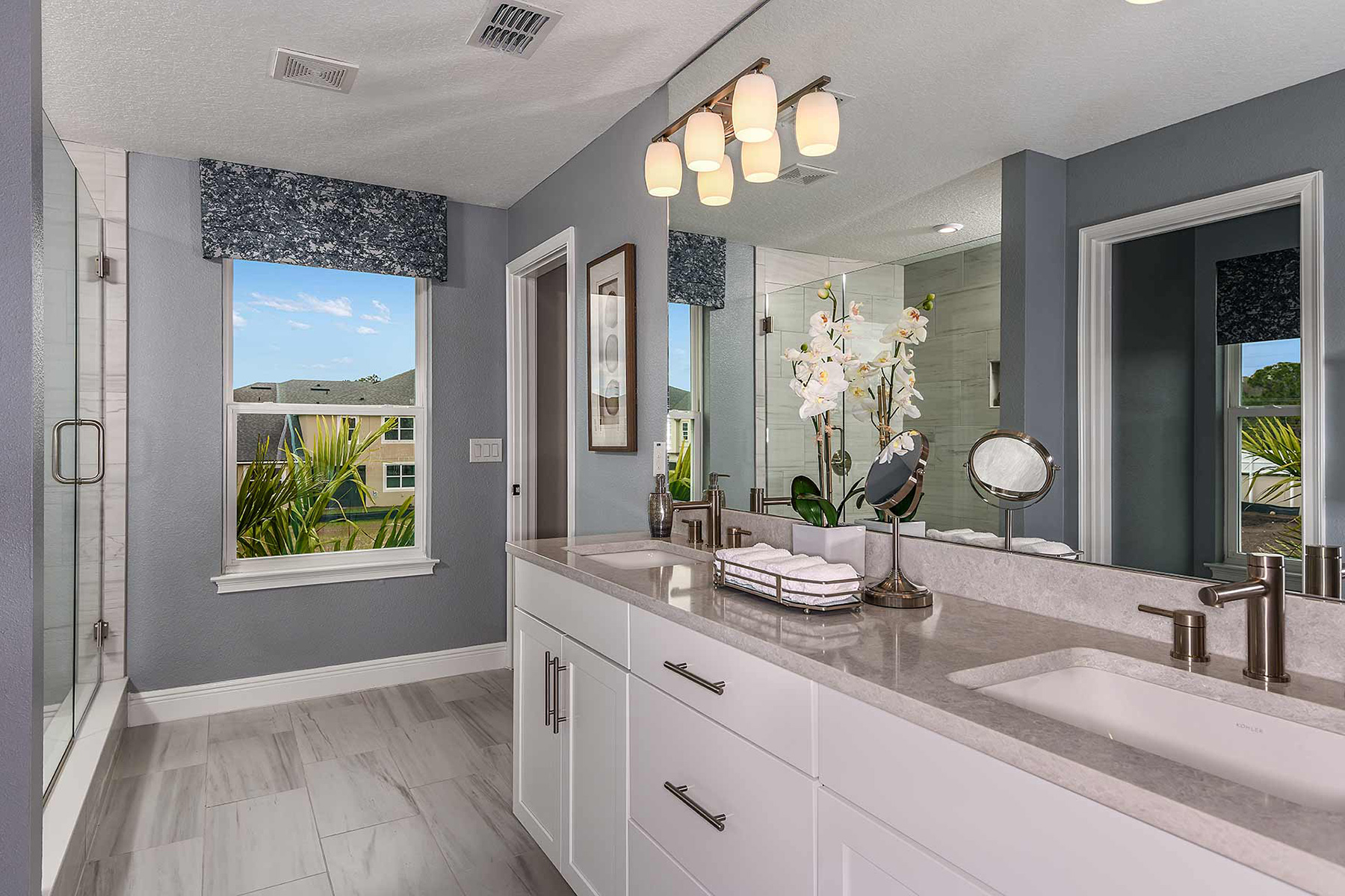 Venice Plan Bath at Avea Pointe in Lutz Florida by Mattamy Homes